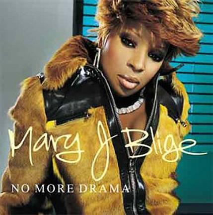 Mary J Blige No More Drama album art
