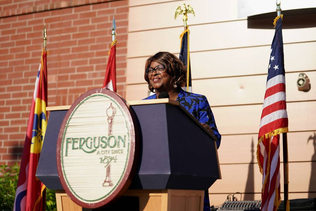 Mayor Ella Jones - At age 66, Ella Jones was elected the first Black mayor in the 126-year history of Ferguson, Mo. in June, at the height of protests over the murder of George Floyd by now former white police officer, Derek Chauvin. Not long ago, Ferguson was the center of similar strife. The city made international headlines in 2014 when Michael Brown was killed by police, sparking protests and civil unrest in the city, and also serving as a catalyst for the then-growing Black Lives Matter movement. Jones condemned violent actions in response to Floyd's murder but encouraged peaceful civil protest. (Photo by Michael B. Thomas/Getty Images)