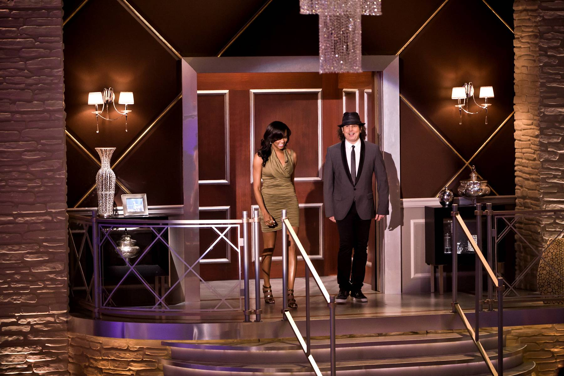 Jazz + R&B United - Jazz legend Boney James and LeToya Luckett enter the Penthouse. James has toured with the likes of Morris Day, the Isley Brothers, Teena Marie and more. Luckett is a former member of Destiny?s Child.(Photo: Darnell Williams/BET)