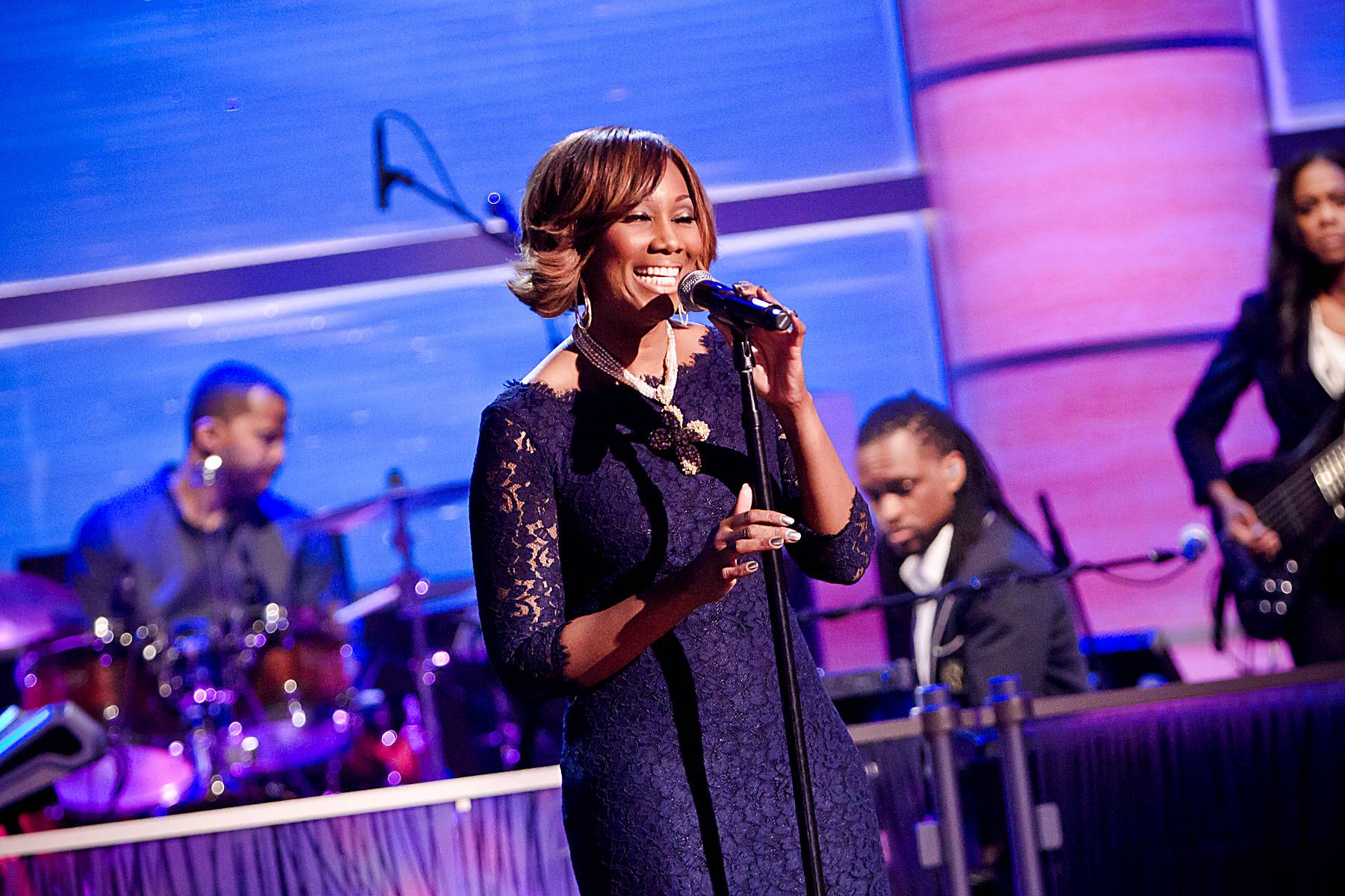 What She Has Become\r - Adam?s latest album, Becoming, is in stores now!\r\r(Photo: Darnell Williams/BET)