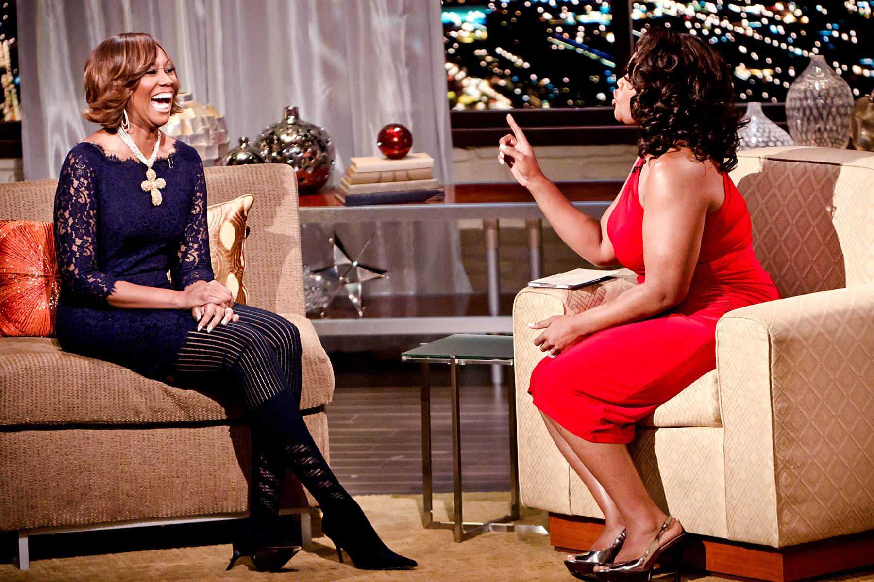 Radio Saved My Life - Adams currently hosts her own radio show and admits that one of the most rewarding aspects of the show is when listeners call in letting her know that it was her music that helped save them.\r(Photo: Darnell Williams/BET)