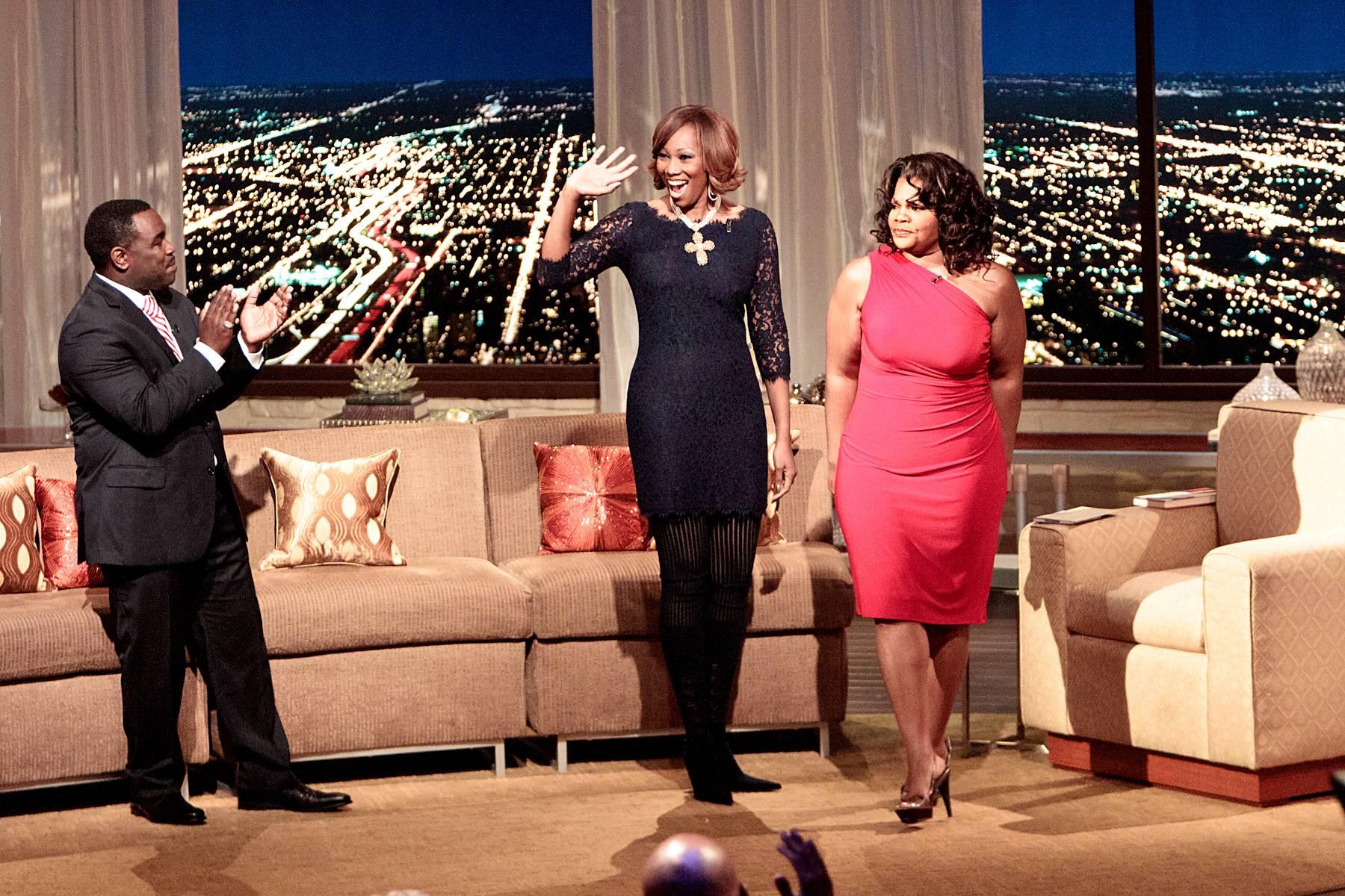 Praiseworthy - Gospel superstar Yolanda Adams enters the Penthouse to much rejoice!(Photo: Darnell Williams/BET)
