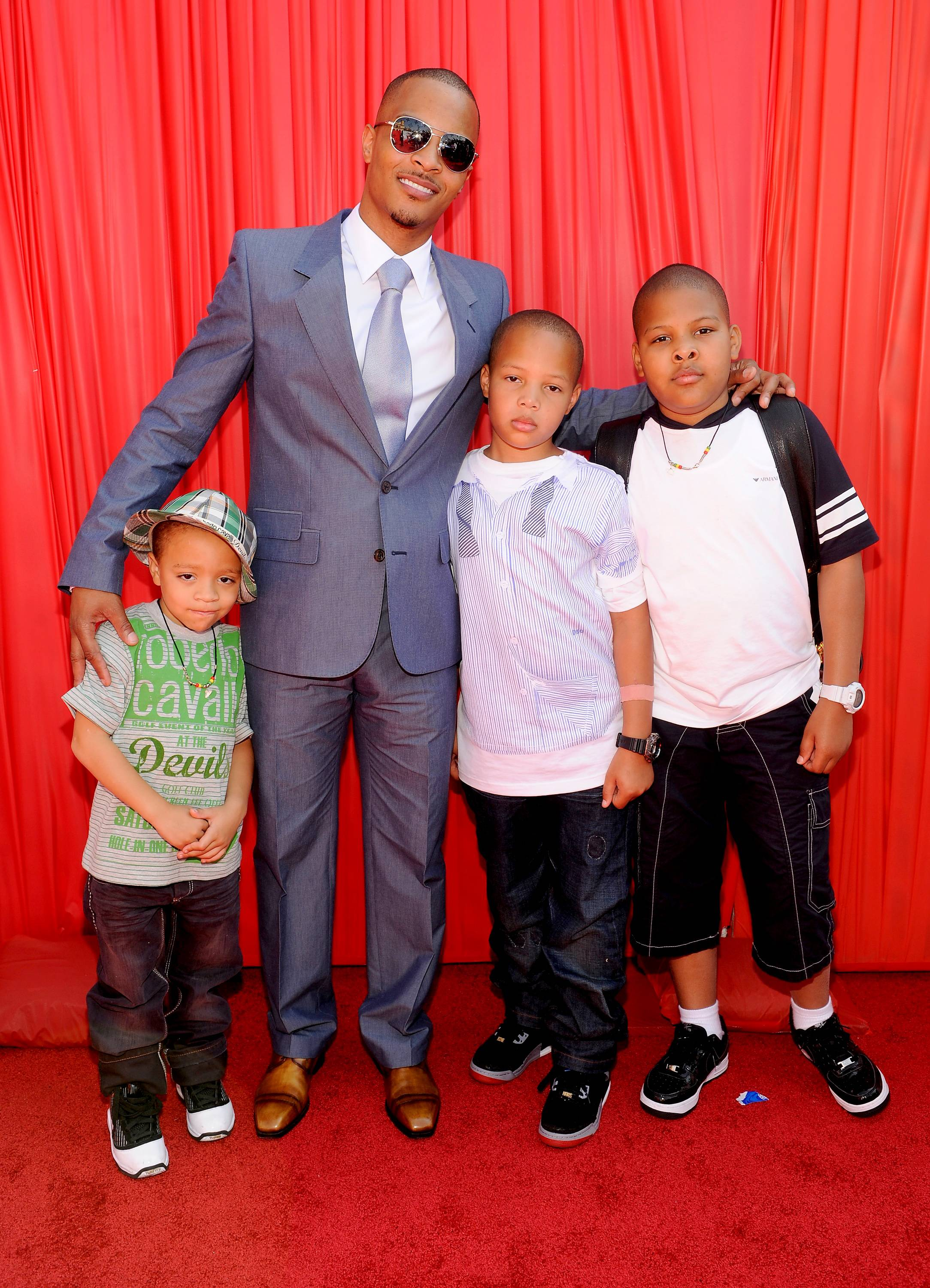 """T.I.  - T.I. says he?s teaching his six kids to """"be passionate about the things that move you and follow that passion. I am trying to teach them with great reward comes great responsibility. The more you have the more you are required, obligated to do. With no struggle, there is no progress. That's what I am trying to teach them.""""(Photo: Frank Micelotta/PictureGroup)"""