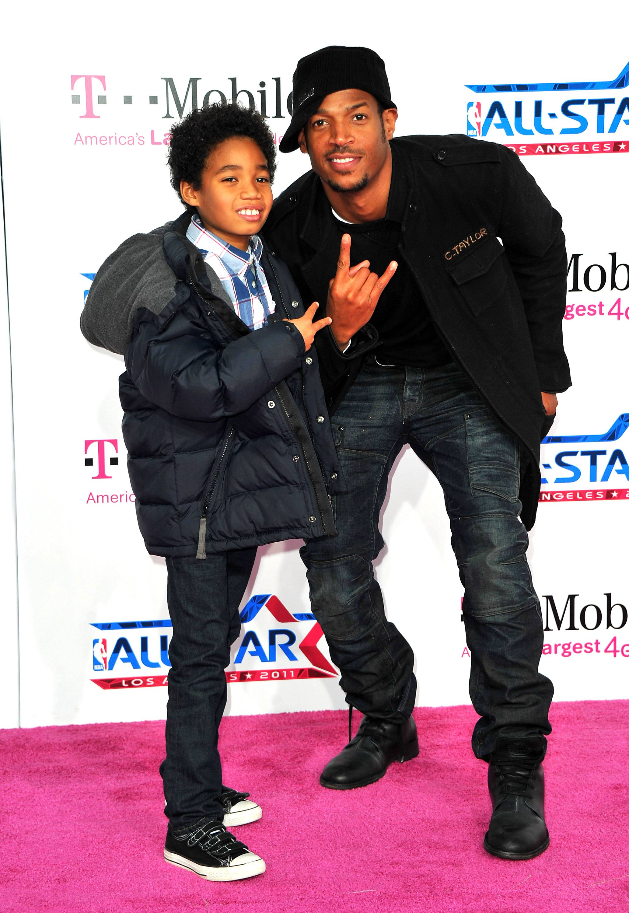 """Marlon Wayans - Marlon Wayans recently tweeted: """"My son is cute. He lends my daddy services to all his friends that don't have fathers. He's like """"u can call my dad, dad. Right dad?""""(Photo: Alberto E. Rodriguez/Getty Imagaes)"""