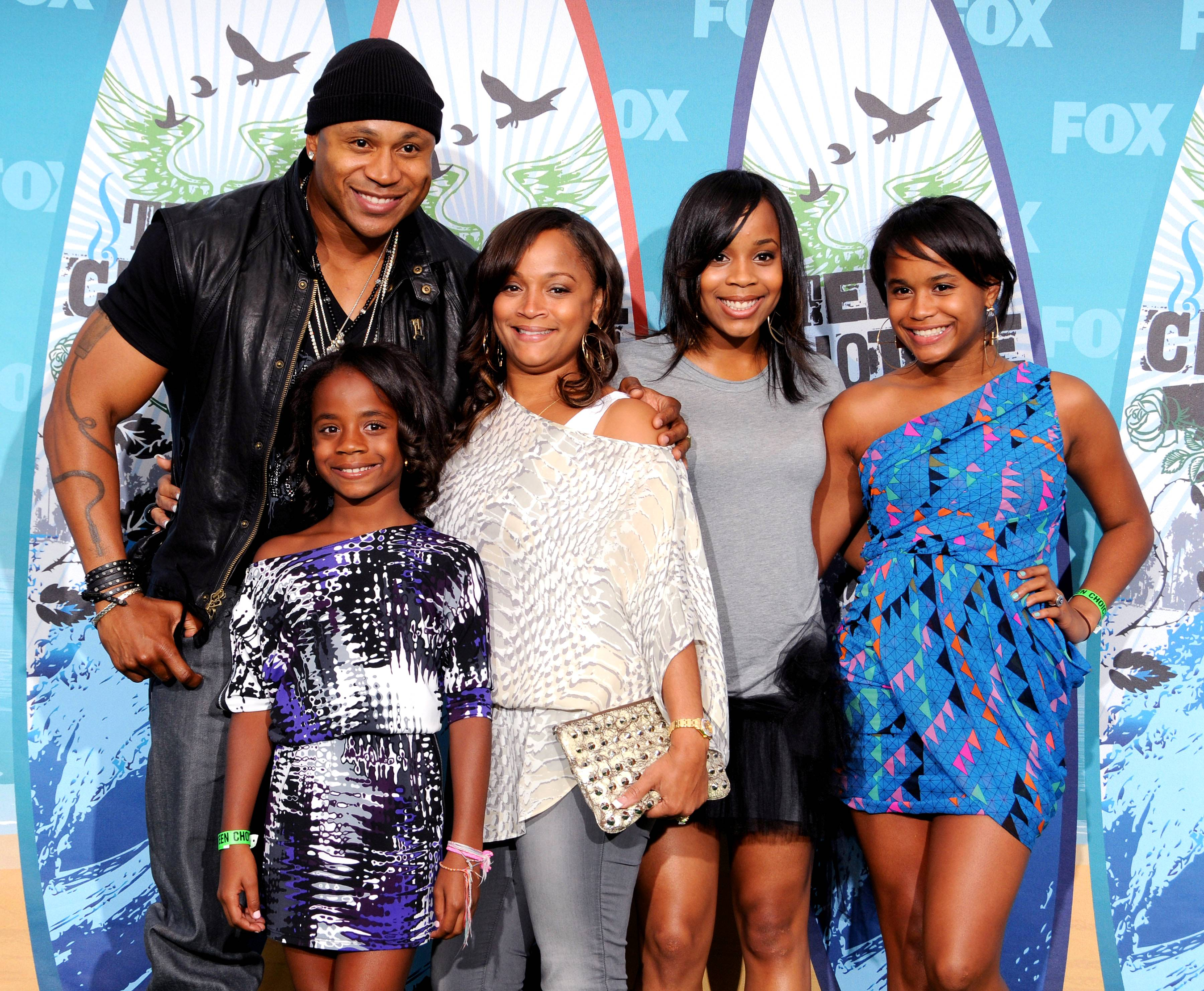 """LL Cool J - LL Cool J recently told the ladies of The Talk: """"I try to inspire my kids. I pull them to the side and say, 'You're beautiful, you're a special young lady, you can do anything you put your mind to. Don't let anybody set the bar for you.' I try to put the gasoline in their tanks.""""(Photo: Gregg DeGuire/Fox/PictureGroup)"""