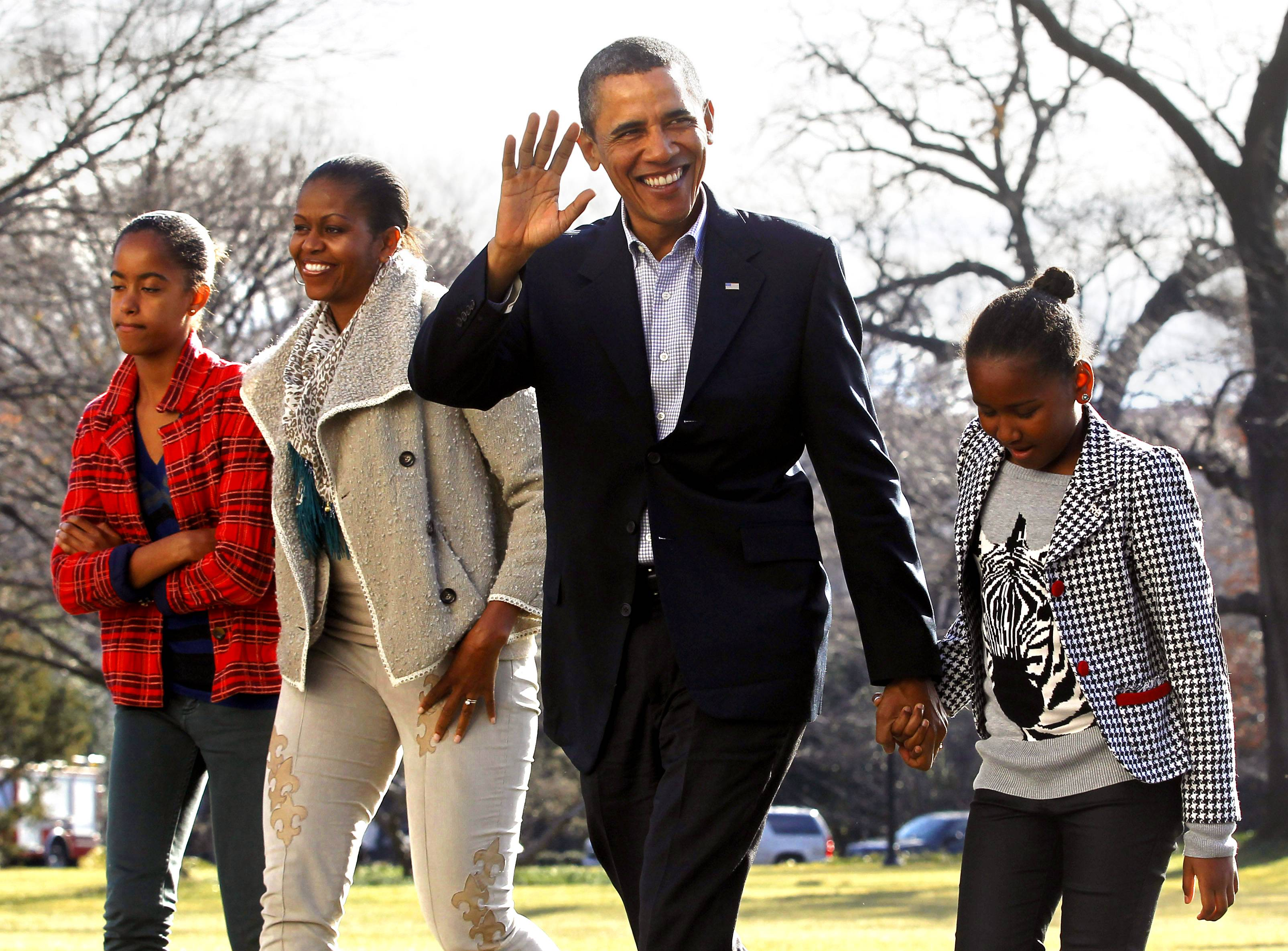 """President Barack Obama - """"If we want our children to succeed in life, we need fathers to step up. We need fathers to understand that their work doesn?t end with conception?that what truly makes a man a father is the ability to raise a child and invest in that child.""""(Photo: REUTERS/Jason Reed)"""