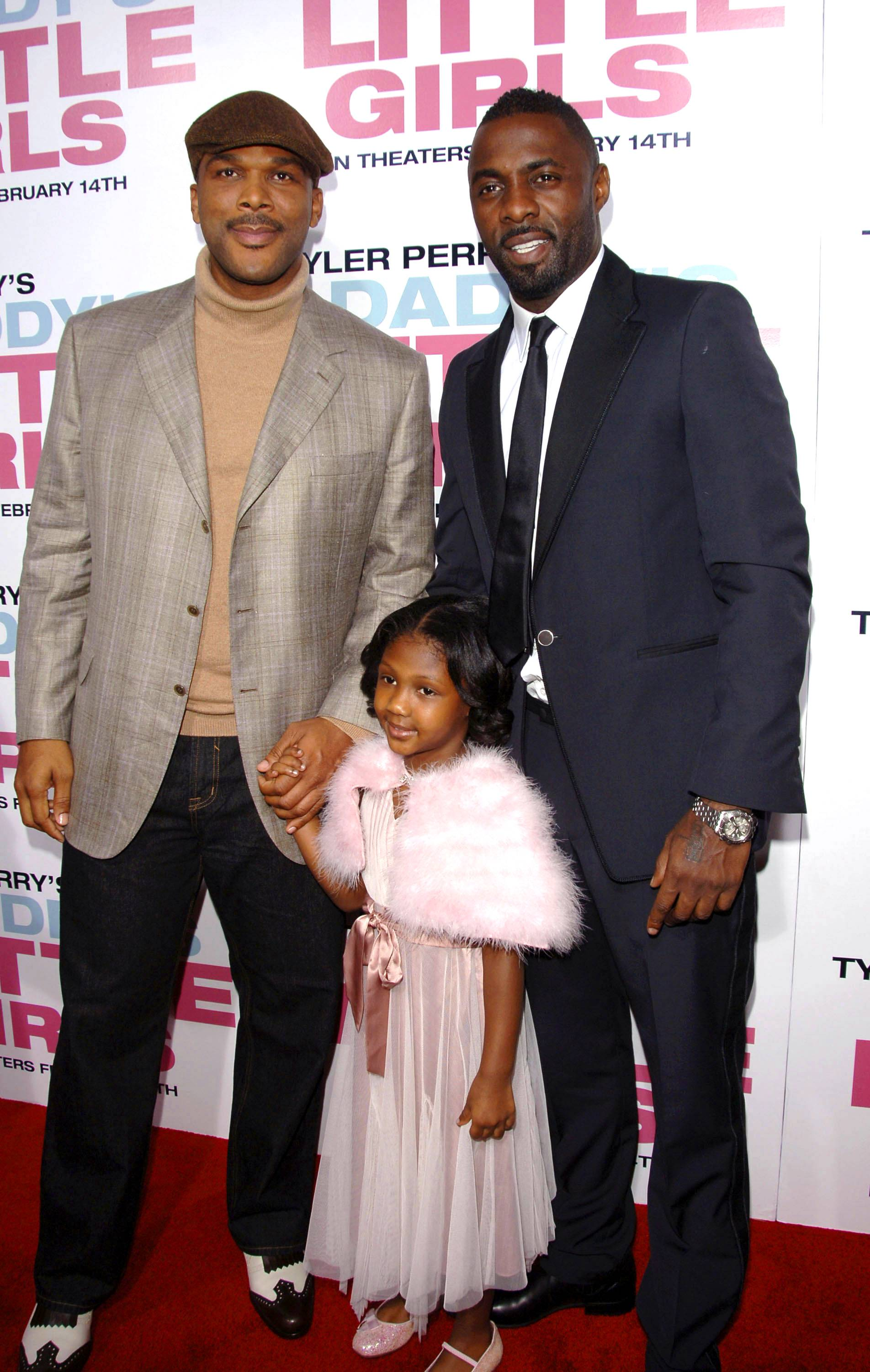 """Idris Elba - British actor Idris Elba shares an adage his mum and dad bestowed on him that he's now passed on to his little girl: """"Whatever it is you want to do?I don't care if it's whether you want to sweep the streets or touch the clouds?go for it! Go for it like it's no tomorrow.""""(Photo: Stephen Shugerman/Getty Images)"""