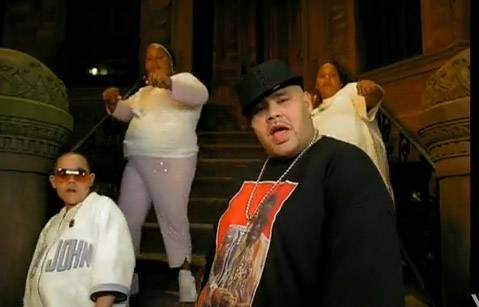 """Lean Back - Bronx-bred rapper Fat Joe, Remy Ma and the Terror Squad started a movement with """"Lean Back,"""" the lead single from their album True Story. In the music video, which features a cameo fromKevin Hart, he's everywhere, the Squad does the """"lean back,"""" aka the """"rockaway.""""(Photo: Universal Records)"""