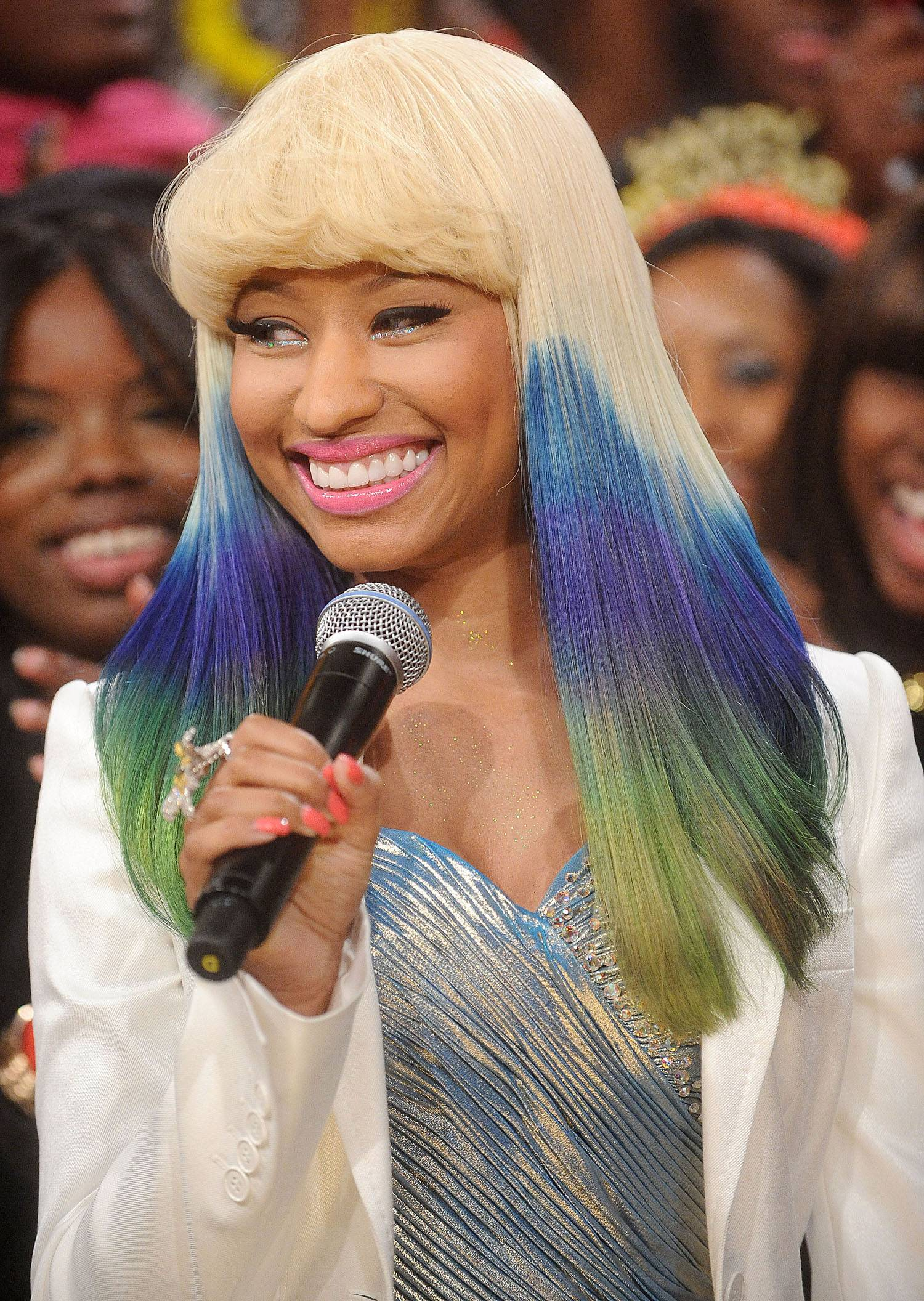 """First Female Artist With a No. 1 Single on the Rap Charts Since 2002 - The accidental single """"Your Love"""" leaked and became a radio hit for Minaj in the summer of 2010. The track quickly ascended to No. 1 on the rap charts, making the Queens-bred rapper the first female artist to top the charts without a feature since 2002.(Photo: Brad Barket/PictureGroup)"""
