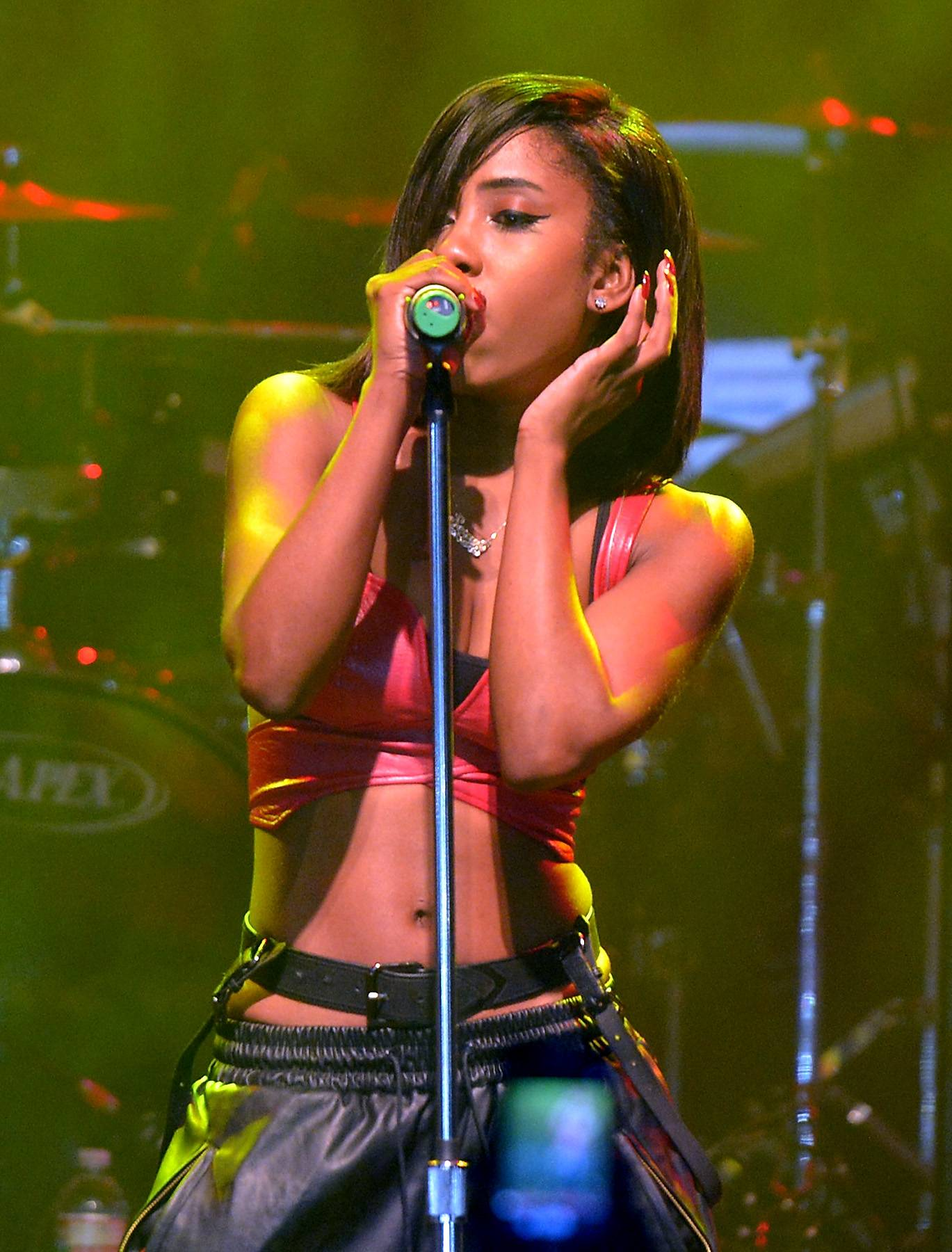 The Answer to B2K - In the early 2000s,Sevynand three other girls became part of a group called TG4. The quartet was created to be the female answer toB2Kand the girls even got to open up for the boy band andBow Wow, but they disbanded before taking off.(Photo by Michael Buckner/Getty Images for Atlantic Records)