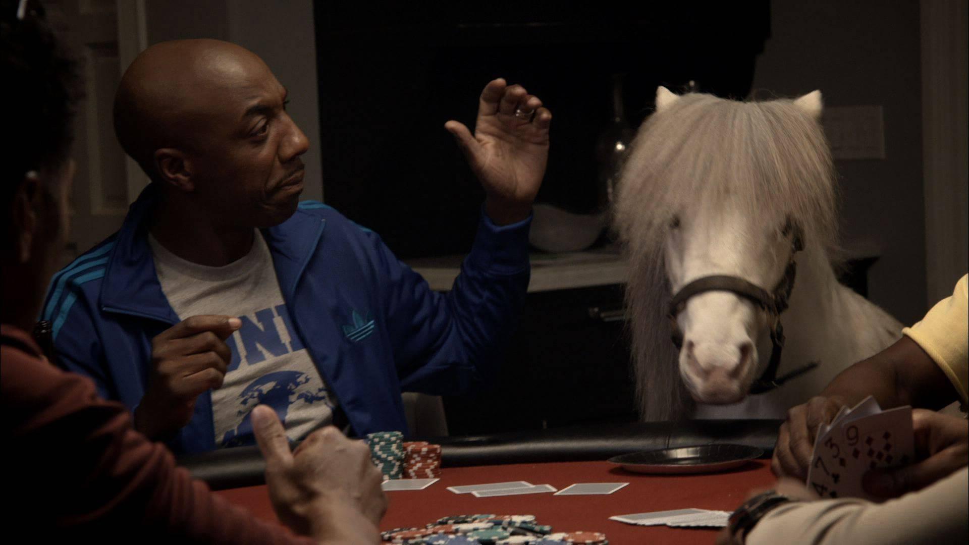 The Time He Made Friends With a Shetland Pony - (Photo: BET)