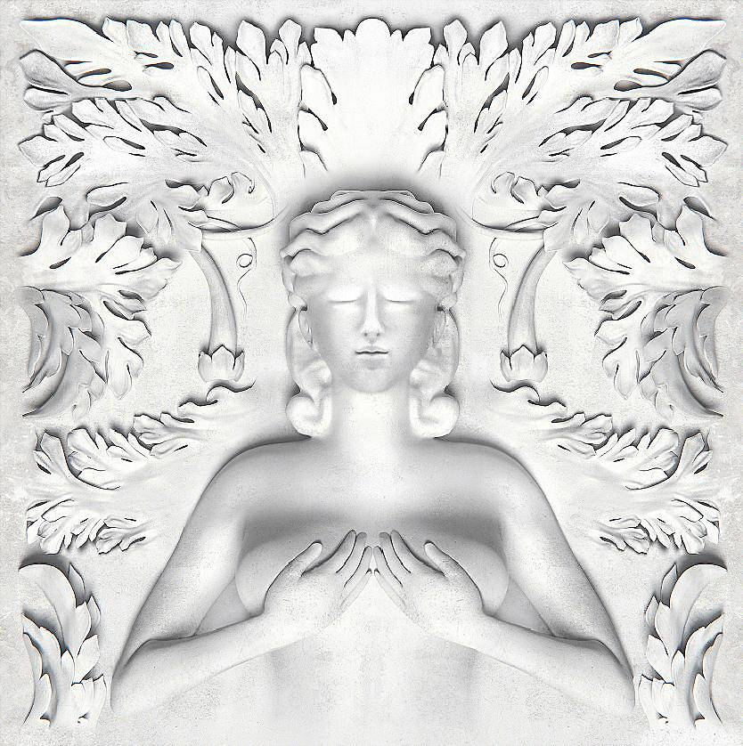 G.O.O.D. Music?Cruel Summer - Cruel Summer's album artwork could have been a Picasso baby itself with its Greek-like sculptured essence.(Photo: G.O.O.D. Music)