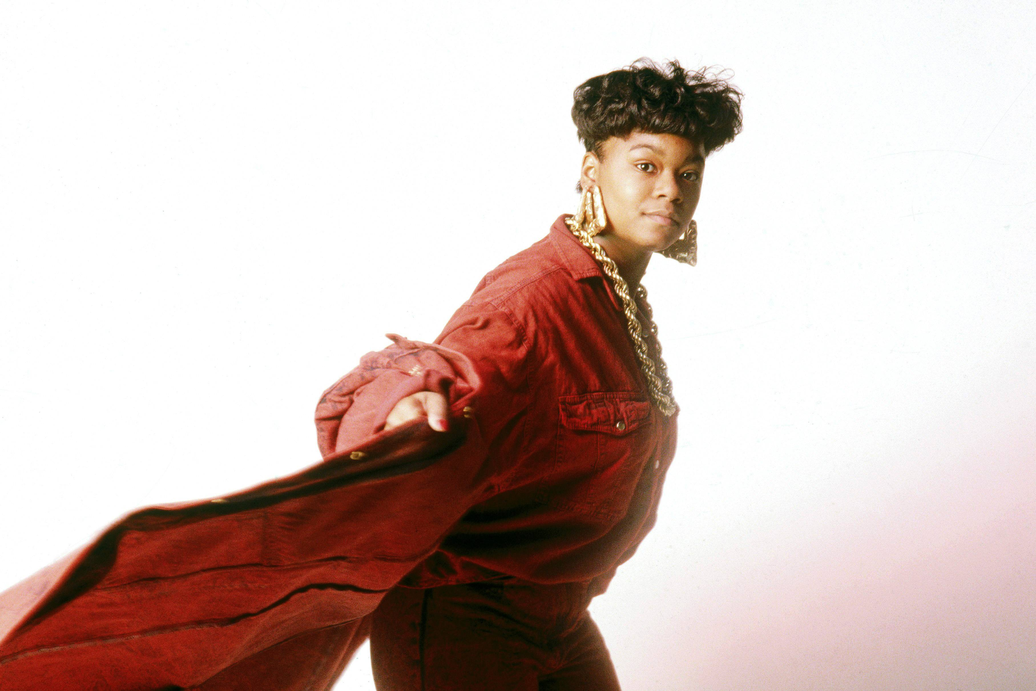 """Roxanne Shante - Ask any female MC who they were inspired by, and so many times you will get the answer, Roxanne Shante. At the tender age of 14, Roxanne Shante released """"Roxanne's Revenge,"""" a response record to UTFO's """"Roxanne, Roxanne."""" The Queensbridge MC was one of the first commercially successful females in hip hop.  (Photo by Michael Ochs Archives/Getty Images)"""