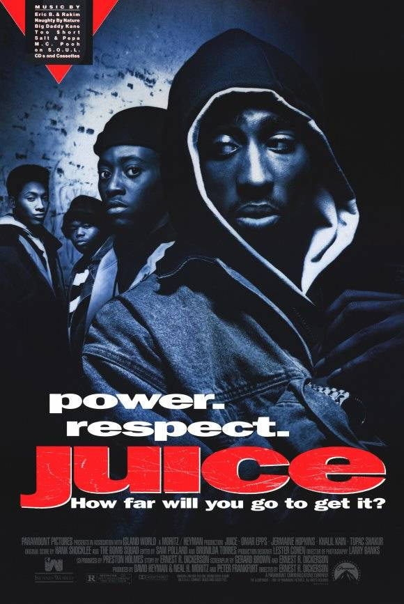 Juice (1992) - In this vehicle that launched Tupac as a film star (and cinematic thug soldier), Jackson was the perfect street info man in the role of Trip. His keen ear to the street would put Starsky & Hutch's Huggy Bear to shame.(Photo: Courtesy Island World)