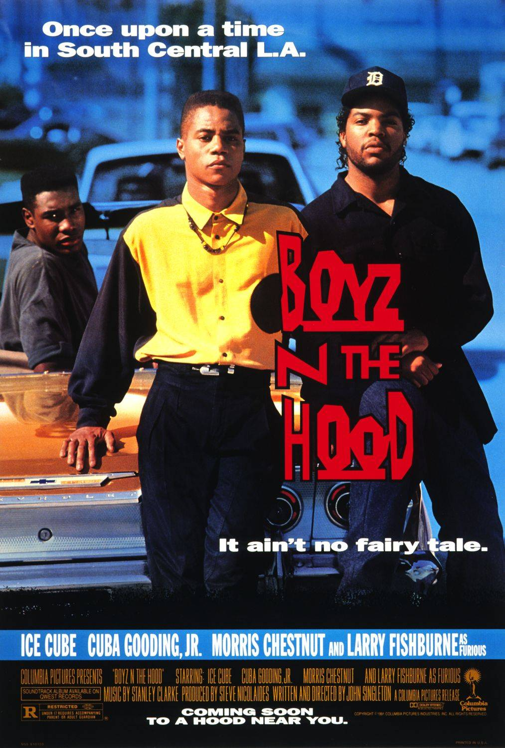 Boyz N The Hood - One word: classic.(Photo: Courtesy Columbia Pictures)