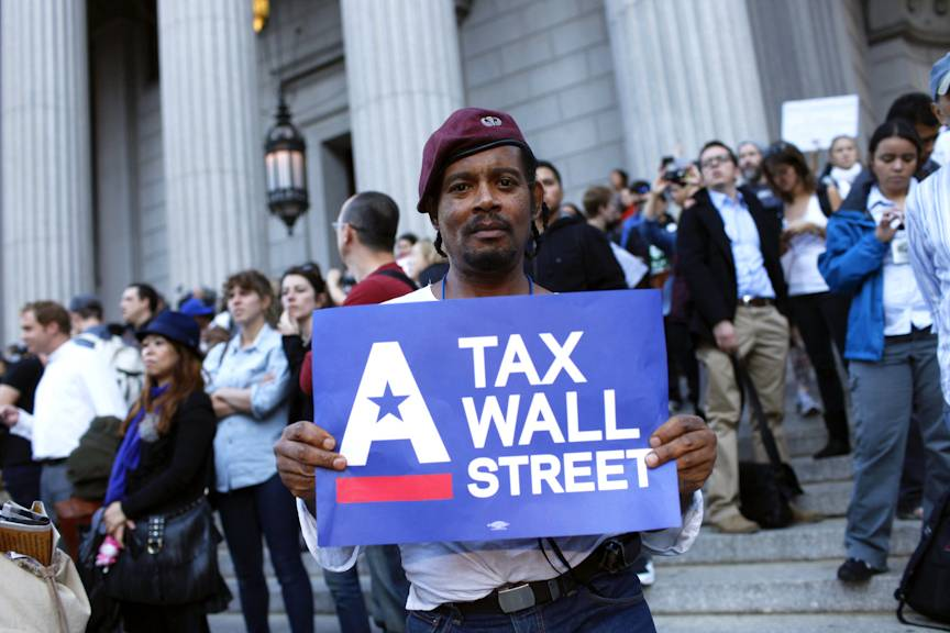 African- Americans Occupy Wall Street - Recent Occupy Wall Street minority protesters say that African-Americans need help more than anyone, and that Blacks should be attending the protests in record numbers.(Photo: Raymond Haddad/BET.com)