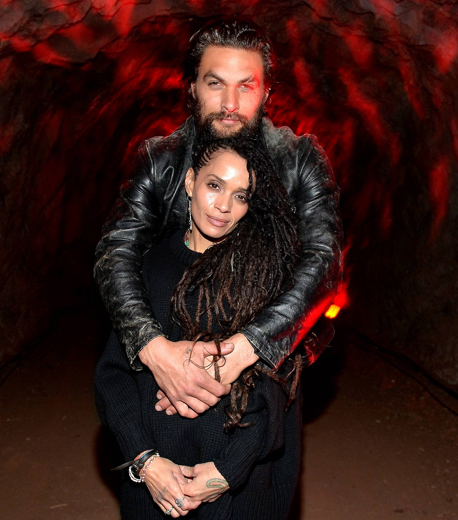 Lisa Bonet and Jason Momoa - Our forever bae Lisa Bonet and the actor who played Khalesi's old TV flame Kahl Drago, Jason Momoa tied the knot making for one of the most beautiful couples ever to grace us.(Photo: Alberto E. Rodriguez/Getty Images)