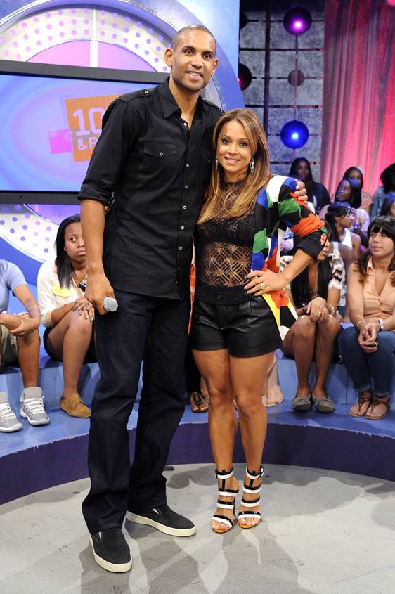 Grant Hill and Tamia Hill - Although both stars in their own right, singer TamiaHill's and retired NBA star Grant Hill?s marriage has remained low-key through the years. Singer Anita Baker introduced the couple to each other and the two jumped the broom on July, 24, 1999. They have two children together.(photo: John Ricard / BET).