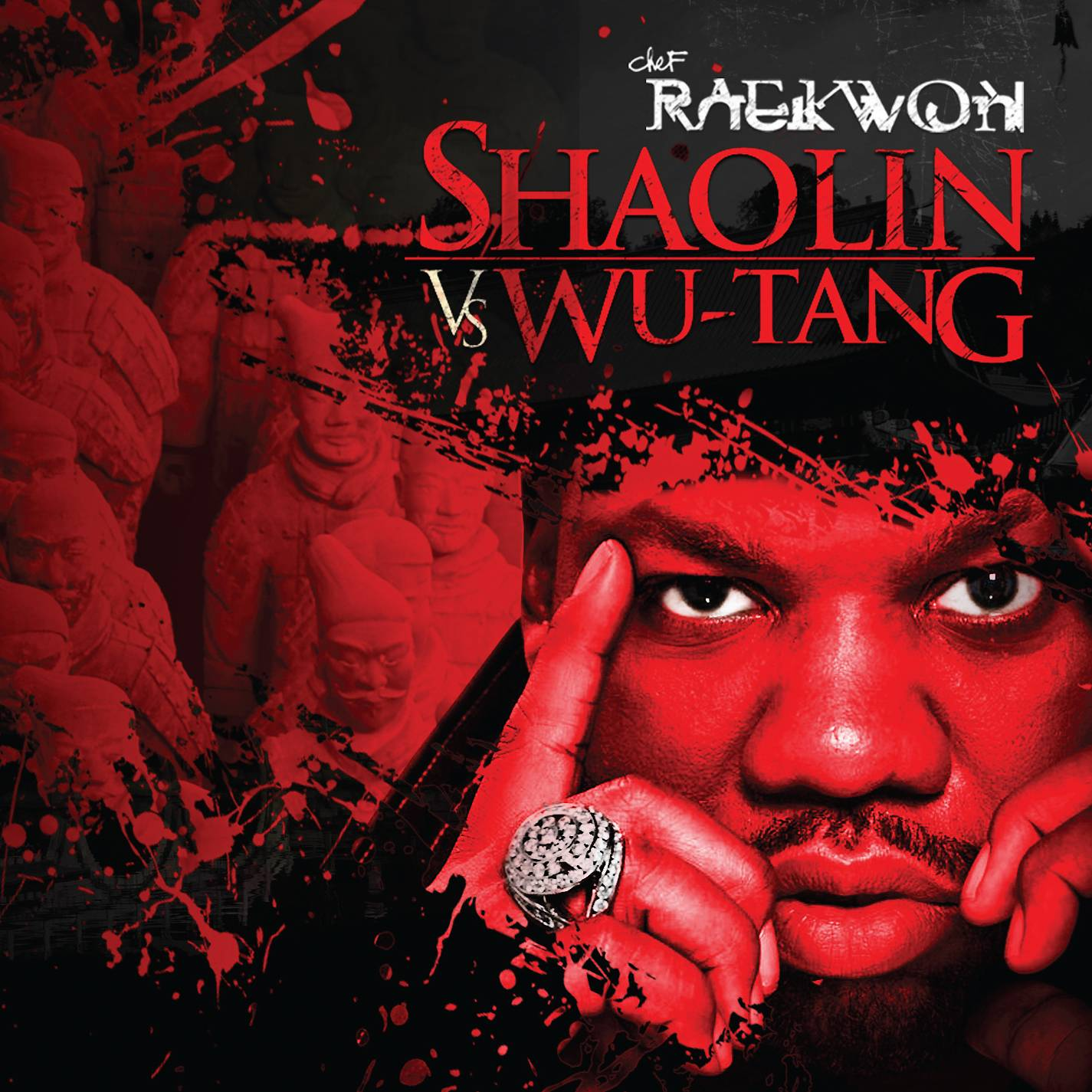 """13. Raekwon ? Shaolin vs. Wu-Tang (2011) - This is the sound of momentum. No, Shaolin vs. Wu-Tang doesn't attempt to tap into the dramatic, cinematic vein of its praise-worthy predecessor, Cuban Linx Pt. II. Instead, it has the loose feel of a late night rhyme cypher over a barrage of gut-punching beats. Rae's pen game is in fine form here and gets an added boost by some stellar assists (The Roots' criminally underrated Black Thought rips it on """"Masters of Our Fate,"""" while Nas holds it down on """"Rich & Black.""""). Yet when you boil it all down, this is an unofficial Wu-Tang Clan album, boasting some of the most potent crew collaborations since their '90s peak. When Meth, Deck and Ghost go line for line with Raekwon, magic happens. (Photo: EMI Records)"""
