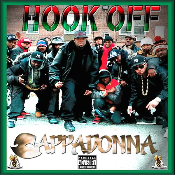 38. Cappadonna ? Hook Off (2014) - You have to give Cappadonna some credit. He managed to make an anti-chorus, still-keeping-it-real, I'm-in-these-streets release in the polished, professional hit maker age of Drake. An admirable effort, even amongst a slew of been-there-done-that hallmarks. (Photo: Protect-Ya-Neck Records)