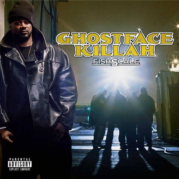 """7. Ghostface Killah ? Fishscale (2006) - Let's dispense with the formalities. Fishscale is the kind of restless, thrill-seeking joyride that has no business coming from a hip hop act, at the time, 13 years in the game. Boredom, trend-chasing, and an outright erosion of skills are among the usual culprits that were supposed to keep Ghostface from making such a highly realized project.But here he is on a riveting track like """"Big Girl,"""" where he laments the fast ways of three women wasting their lives away on blow. But being a Ghostface production there's an eye-winking catch: it's his drugs. And the aptly titled """"The Champ"""" takes a coy swipe at his less serious rap peers when he flips, """"My arts is crafty darts, why y'all stuck with 'Laffy Taffy'""""? Why indeed. (Photo: Def Jam)"""