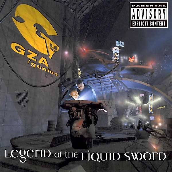 """23. GZA ? Legend of the Liquid Sword (2002) - The mysterious Genius pulls up the curtain and allows listeners to get a behind-the-scenes recreation of when he and cousin the RZA traveled from Staten Island to the Bronx and got a front row seat to the birth of hip hop. Such humanizing moments (GZA also gives his son some shine on the intro """"Auto Bio"""") allow fans to go beyond the super lyrical mysticism of his previous work. (Photo: Universal Records)"""