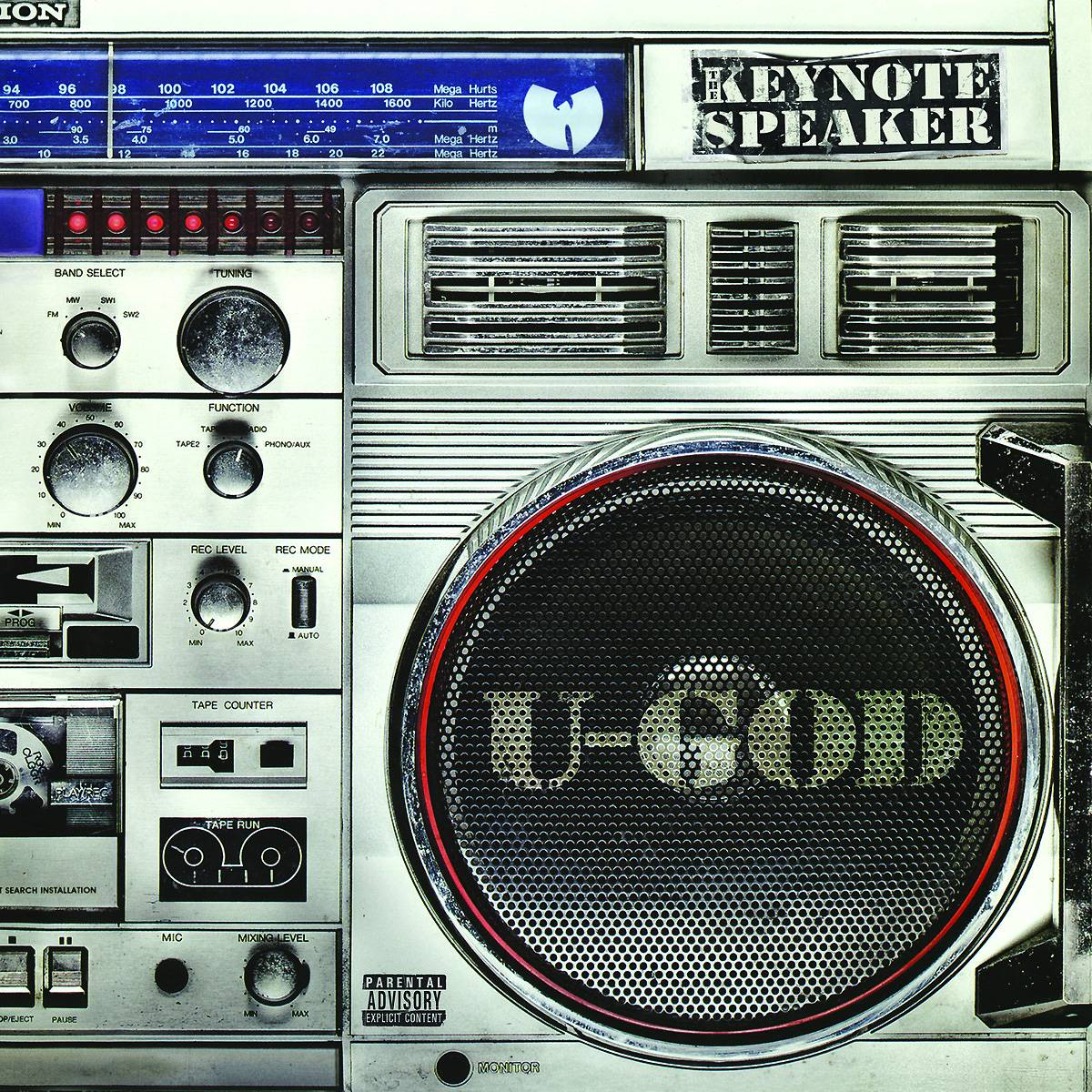 50. U-God - The Keynote Speaker (2013) - At times, U-God has been relegated to forgotten-man status amongst his Shaolin brethren. But if you are looking for the same focused, dynamic raps he exhibited on Raekwon?s ?Knuckleheadz,? this sluggish attempt doesn't do the man any favors. (Photo: Soul Temple)