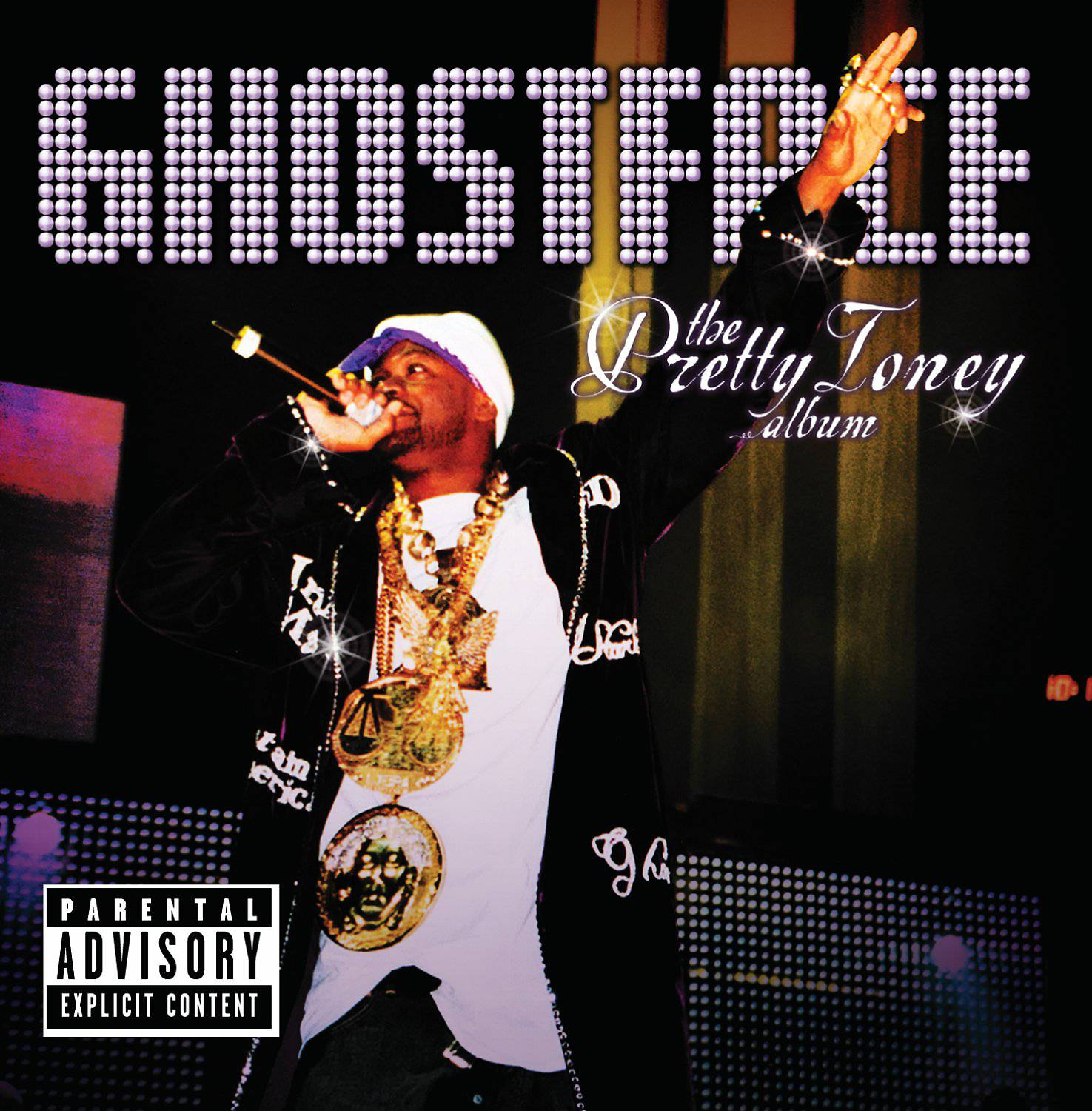 """9. Ghostface Killah ? The Pretty Toney Album (2004) - Is Ghostface the most dependable Wu-Tang alum? Easily. Around the time of this release, he was at the peak of his mainstream powers; an artist that found the perfect balance between critical darling and everyone's go-to rapper capable of stealing shine from a larger-than-life diva like Beyonc?. It's that push and pull that paces Pretty Toney.Delphonics soul (""""Holla"""") makes nice with rosy R&B (""""Love""""). And Ghostface's stream of consciousness writing punches like the Hit Man Hearns in his early '80s heyday with head spinning lines like, """"I'm a family man, Clan mixed with Theodore/My boots hang over the telephone wires on Broadway/Word to Medlife, Tony got insurance on his mic/Smoke mad sh-t and still got endurance when he fight..."""" (Photo: Def Jam)"""