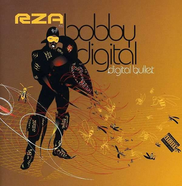 40. Bobby Digital (RZA) ? Digital Bullet (2001) - When RZA first unveiled his refreshingly weird alter ego, Bobby Digital, in the late '90s, it was the kind of conceptual roll of the dice that you expected from the Wu's madcap musical soul. Digital Bullet though is all of the absurd zaniness without the peerless craftsmanship. (Photo: Koch Records)