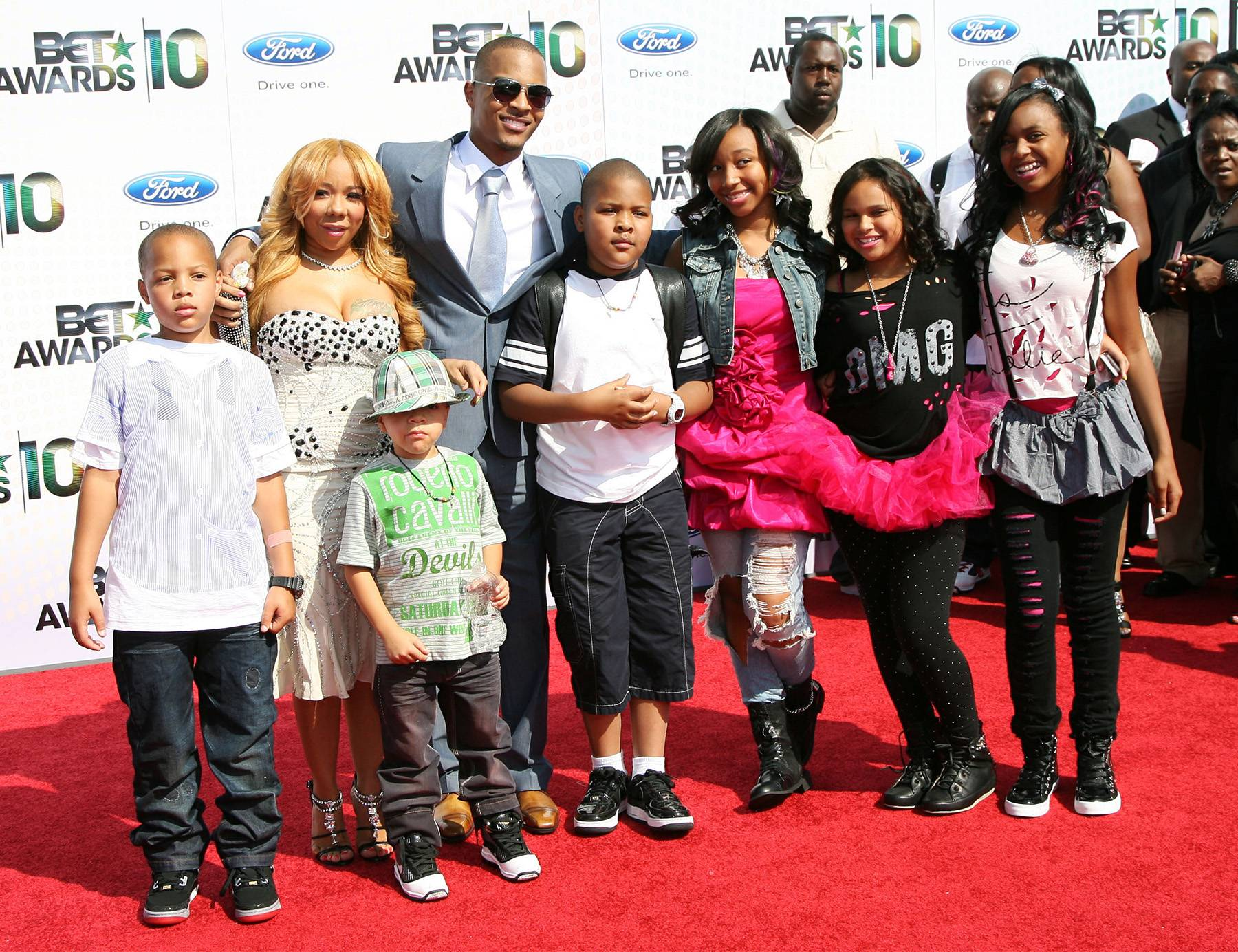 T.I. and the Rest of the Harris Family - The hustle never stops.(Photo: Maury Phillips/WireImage)