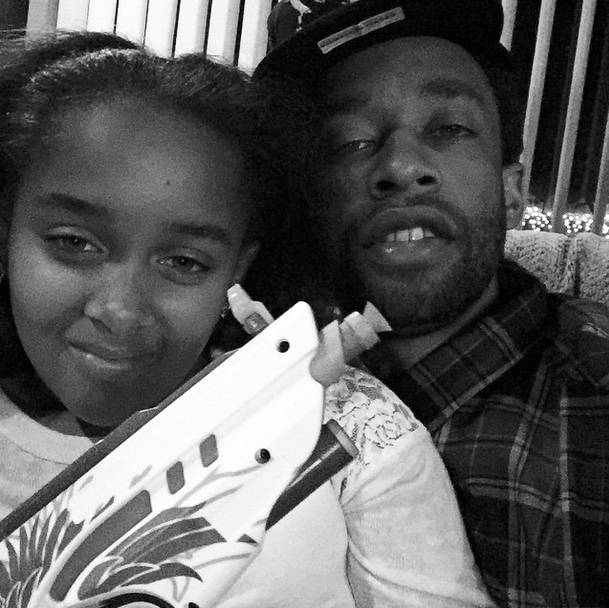 Ty Dolla $ign and His Daughter - Super strong genes!(Photo: Ty Dolla $ign via Instagram)