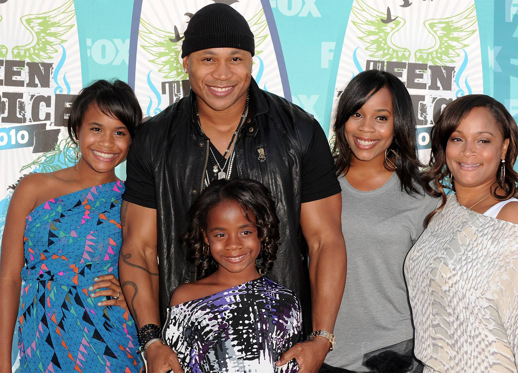 LL Cool J and His Family - We couldn't go without mentioning his little soldier, Najee, who's missing from the photo.  (Photo: Alberto E. Rodriguez/Getty Images)