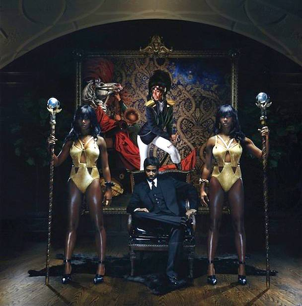 Four Santigolds - Your eyes aren't fooling you, all four of those people are Santigold. What better way to do it than to do it yourself?Don't miss Santigold tonight on 106 & Park at 6P/5C!(Photo: Courtesy Atlantic Records)