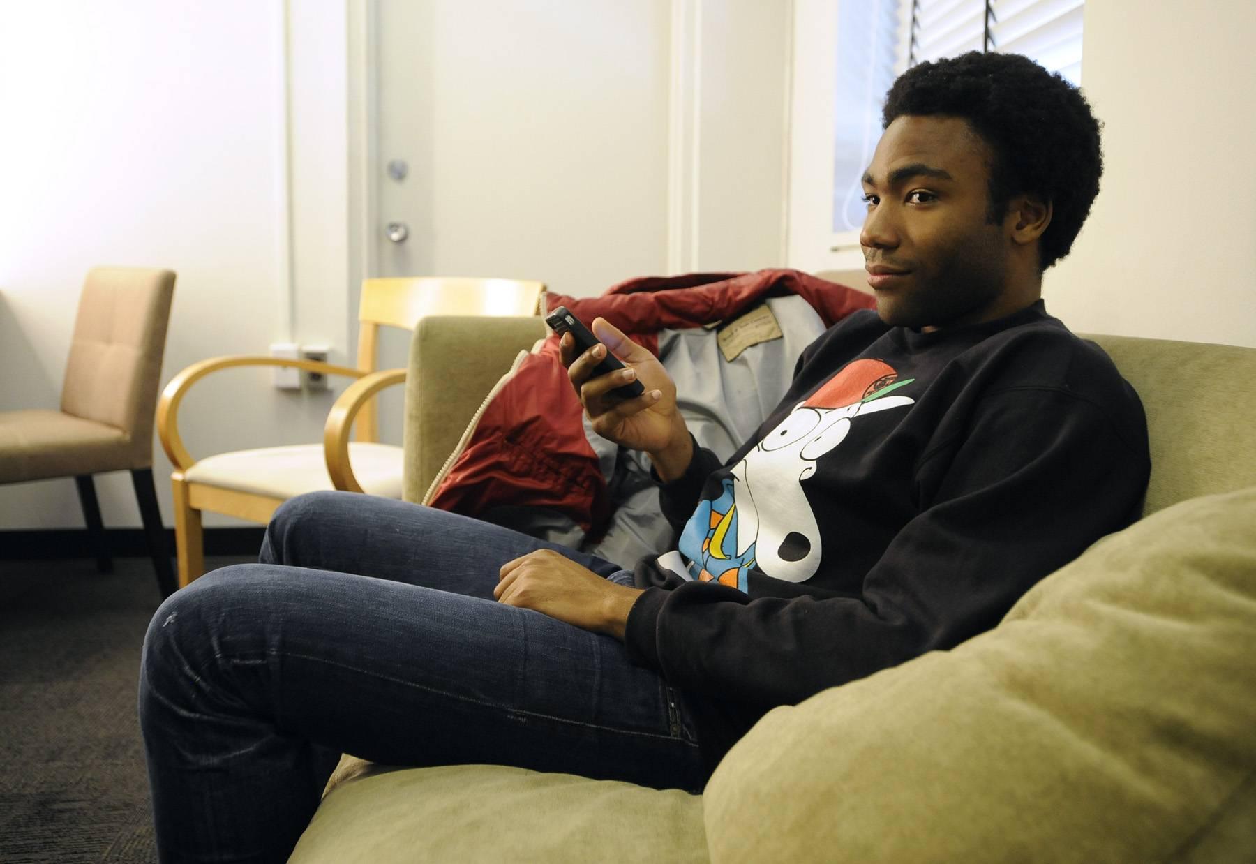 Ready - Childish Gambino in the green room at 106 & Park, May 1, 2012. (Photo: John Ricard / BET)