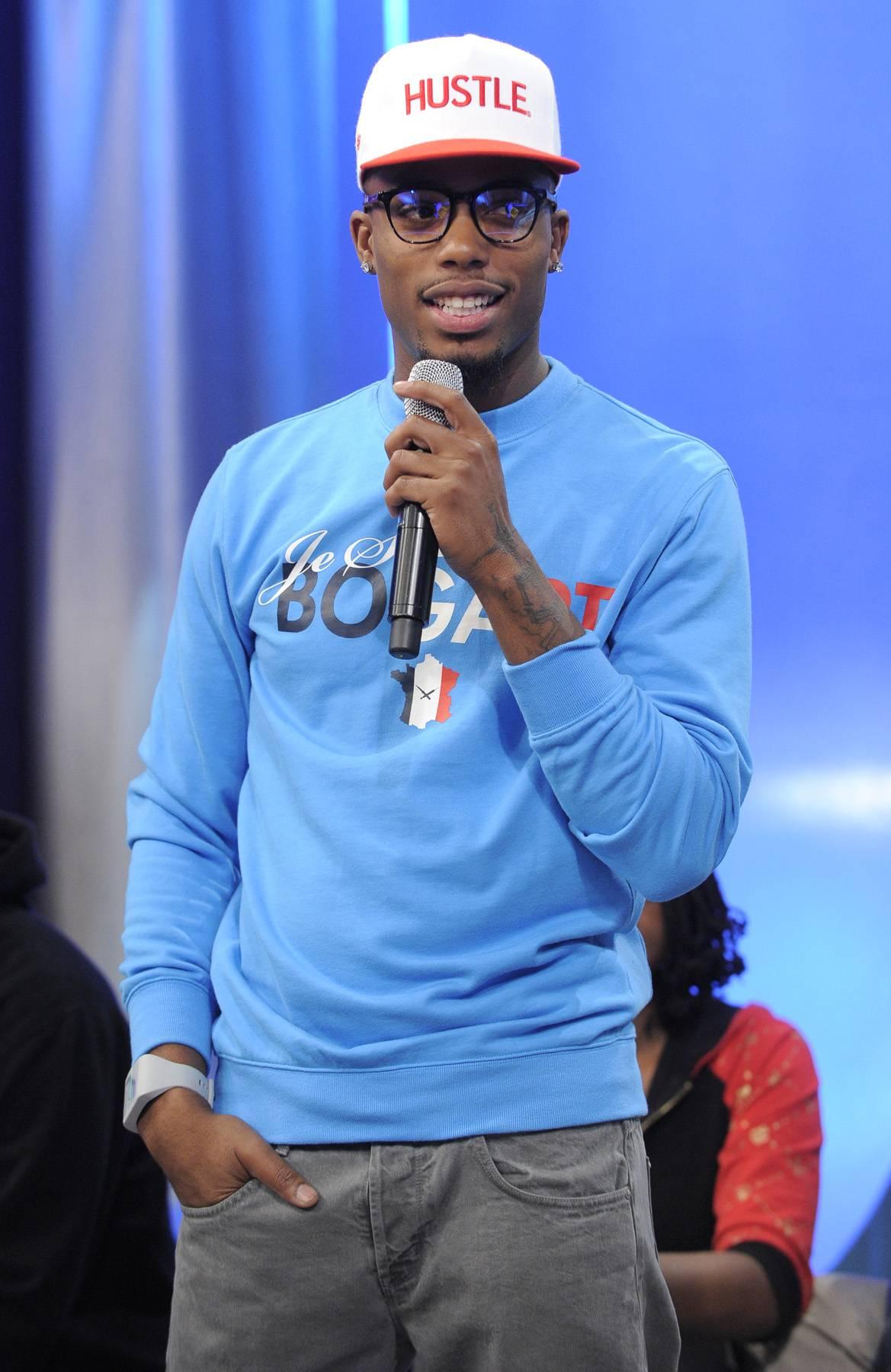 Oh Boy - B.o.B at 106 & Park, May 1, 2012. (Photo: John Ricard / BET)