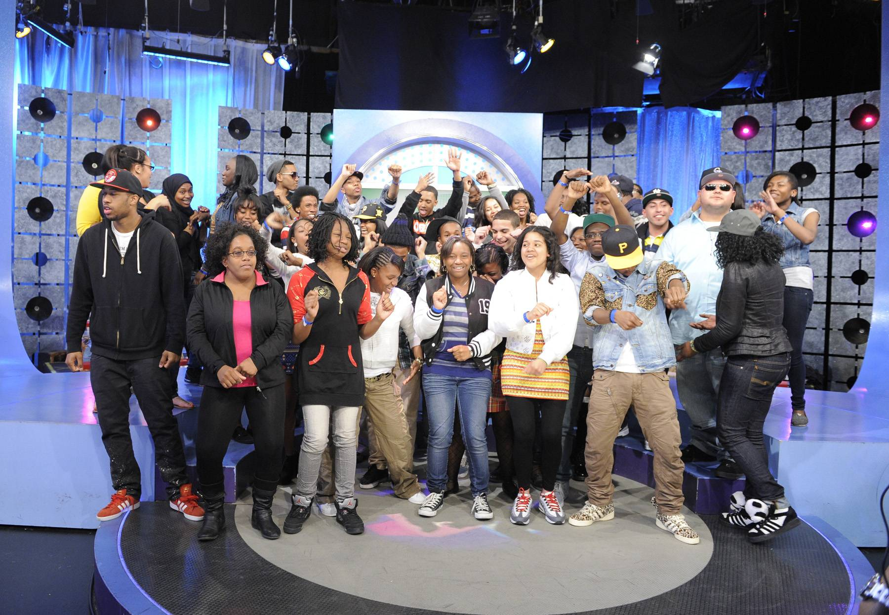Get Live - The livest audience is always at 106 & Park, May 1, 2012. (Photo: John Ricard / BET)