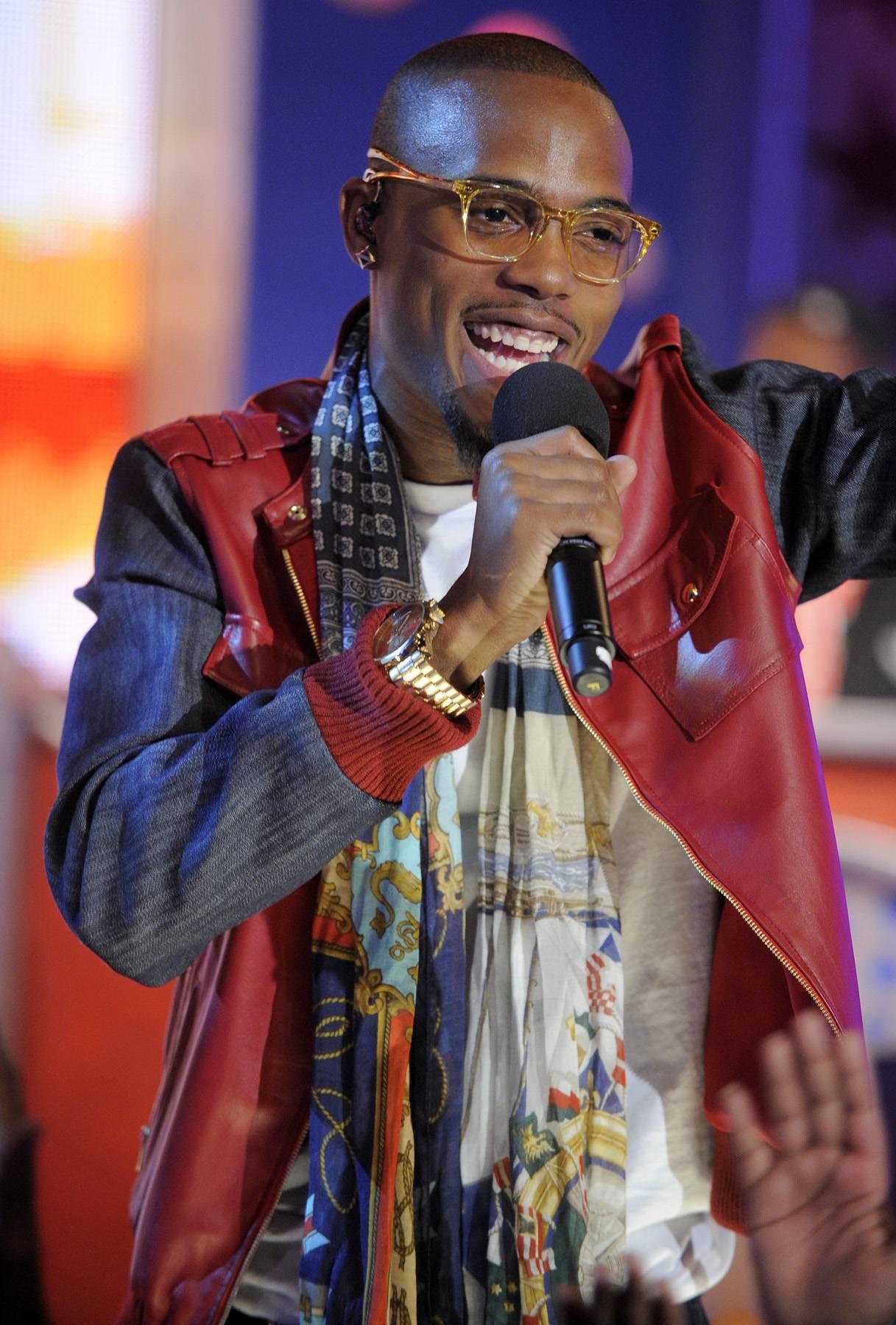 Hey You - B.o.B performs at 106 & Park, May 1, 2012. (Photo: John Ricard / BET)