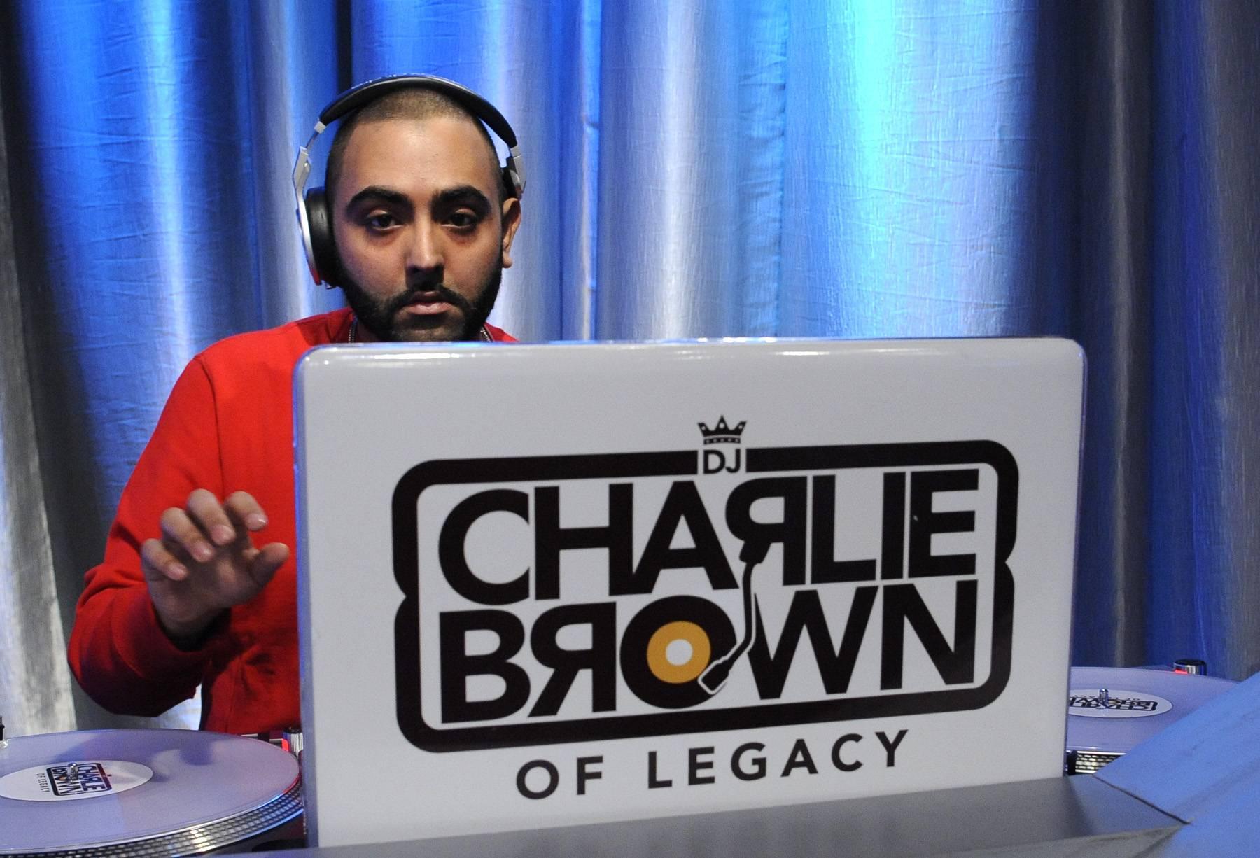 Go DJ - DJ Charlie Brown at 106 & Park, May 1, 2012. (Photo: John Ricard / BET)
