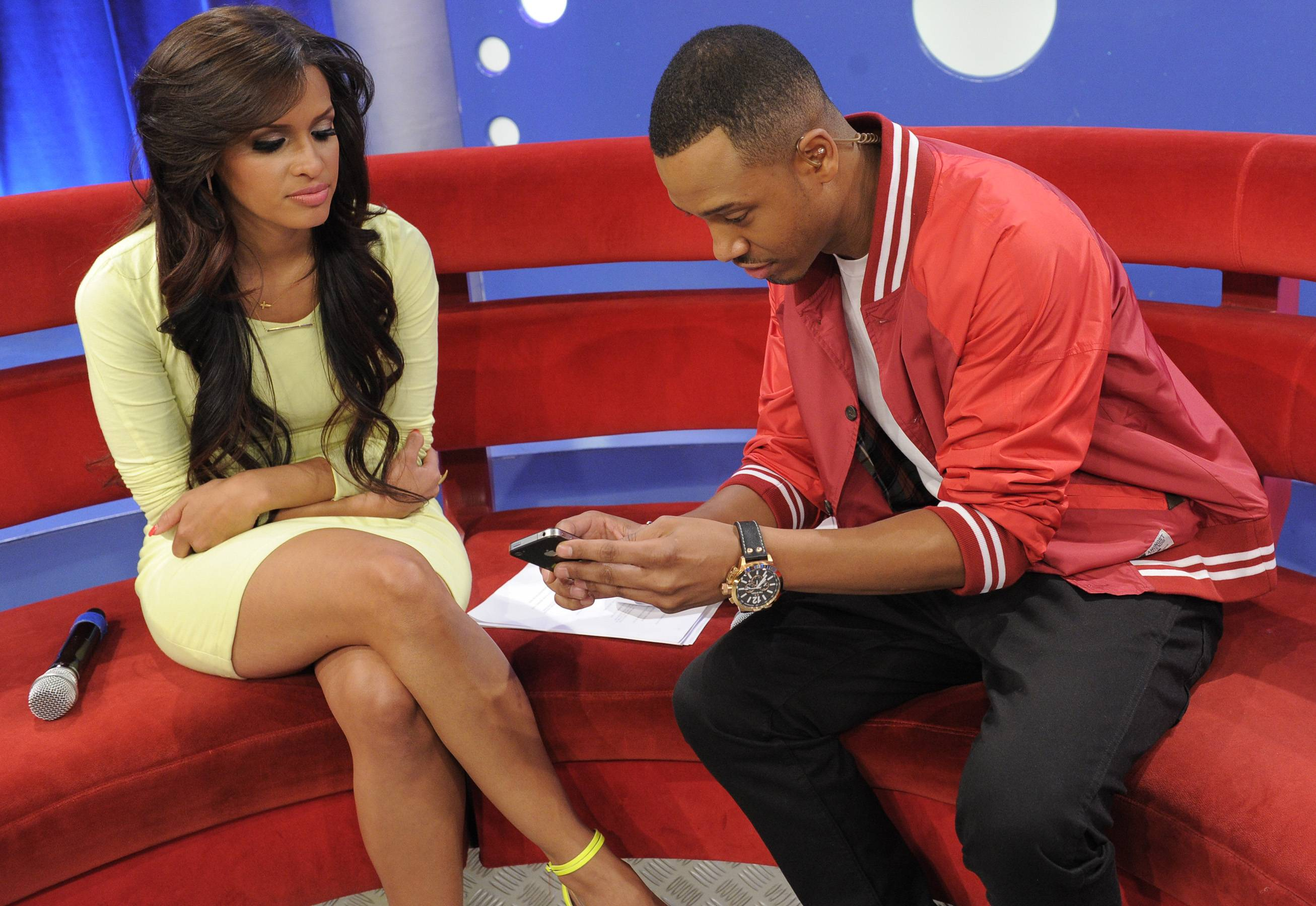Rocsi and Terrence J - Terrence J and Rocsi have been an on-screen duo for more than five years and although their relationship is platonic, their brother-sister bond makes them shine!(Photo: John Ricard/BET)