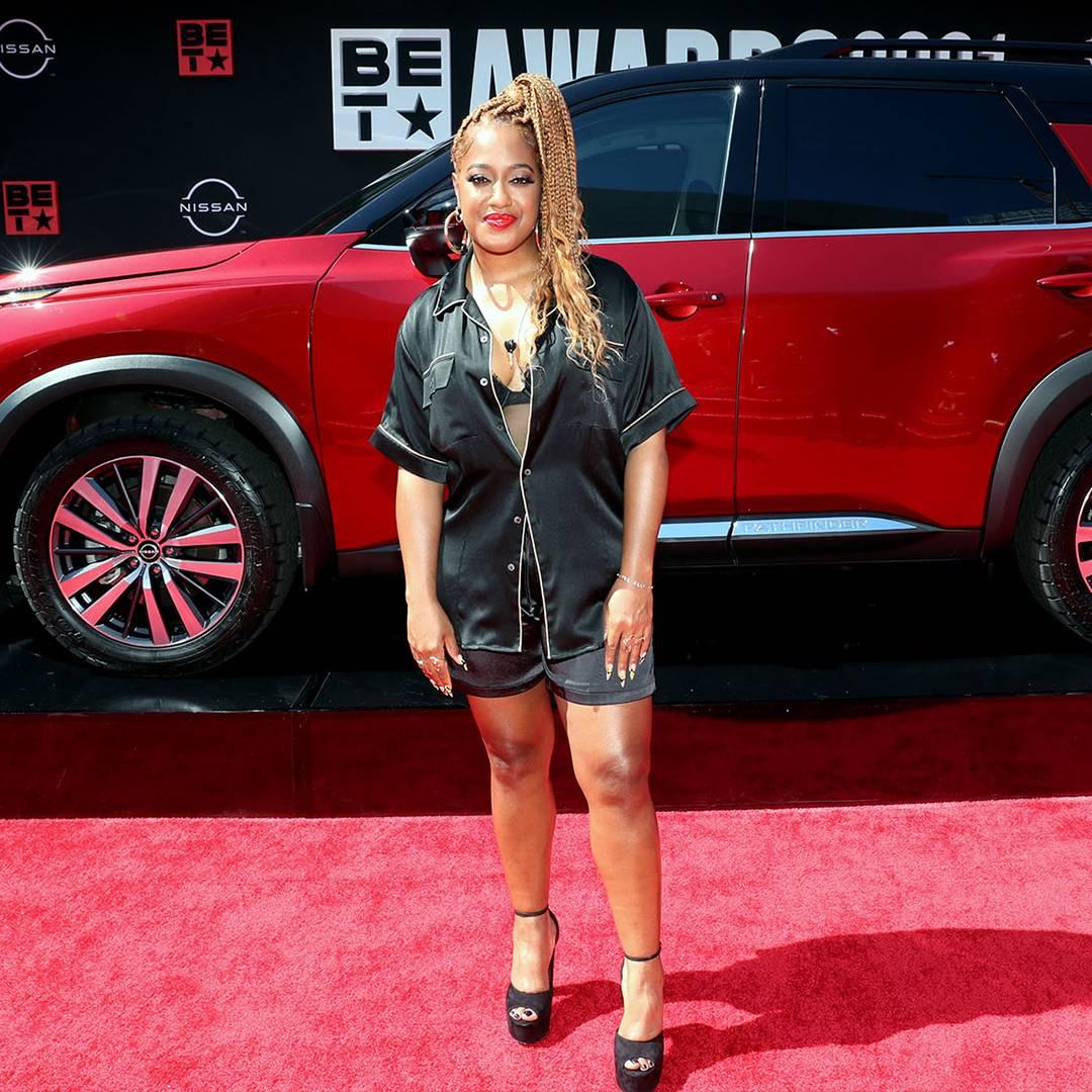 BET Awards 2021   Red Carpet Flipbook Rapsody   1080x1080