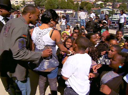 The Best of Keyshia Cole - Keyshia is granted her own day in Oakland and donates $10,000 to the mentoring program.