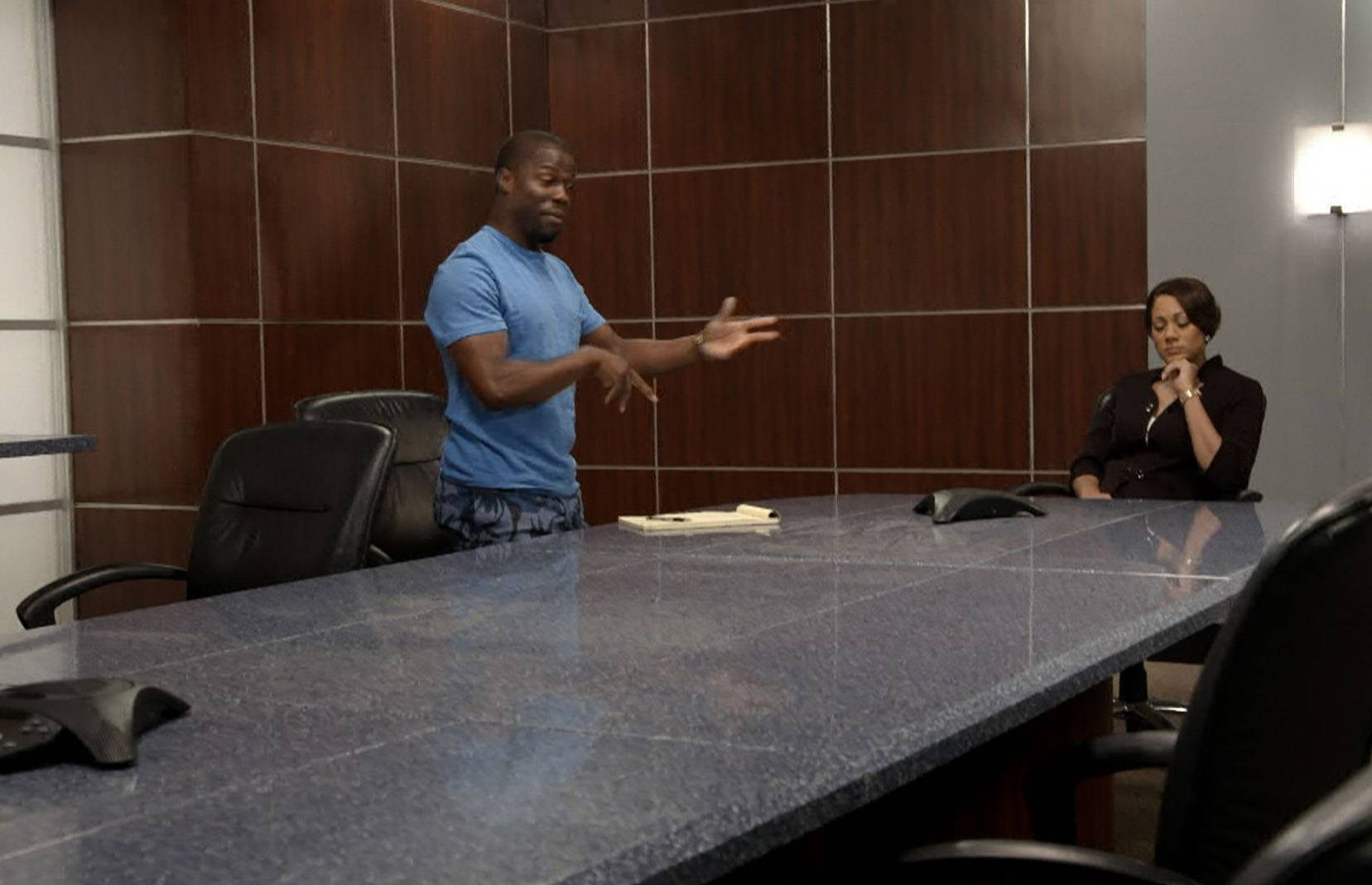 Well Kevin Clearly Screwed Up - Trina lets him go as a client. However, the worst is yet to come.(Photo: BET)