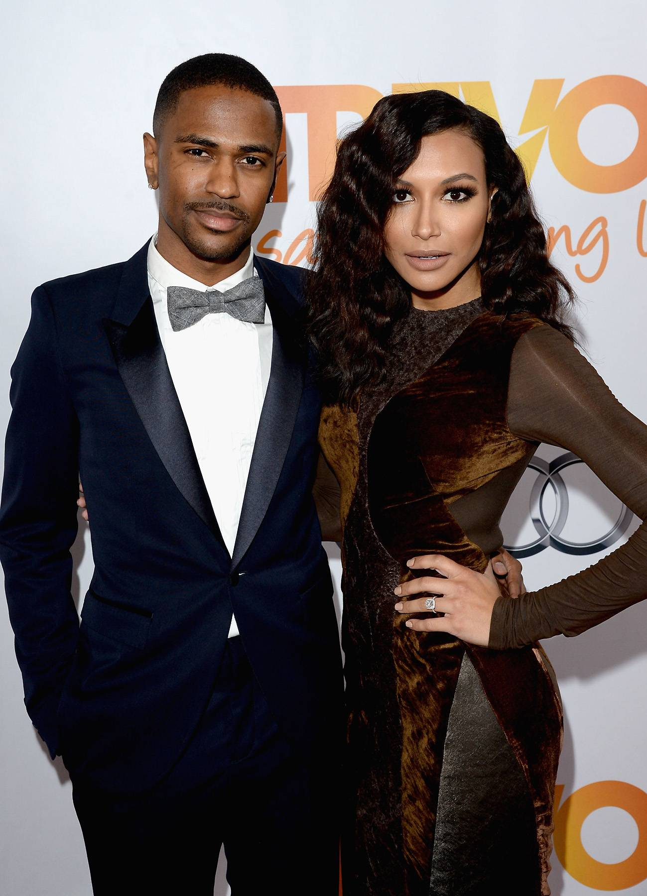 """Naya Rivera Blasts Big Sean - Ironically, former Glee star Naya Riveraborrowed lyrics from her then-fiancé Big Seanto accuse the rapper of stealing in a tweet that went viral despite it being deleted.Tweet: """"@bigsean stealing rolexes from a lady's house now. Maybe cuz I'm on Glee and making more money or something. #triflin.""""(Photo: Jason Merritt/Getty Images for Trevor Project)"""