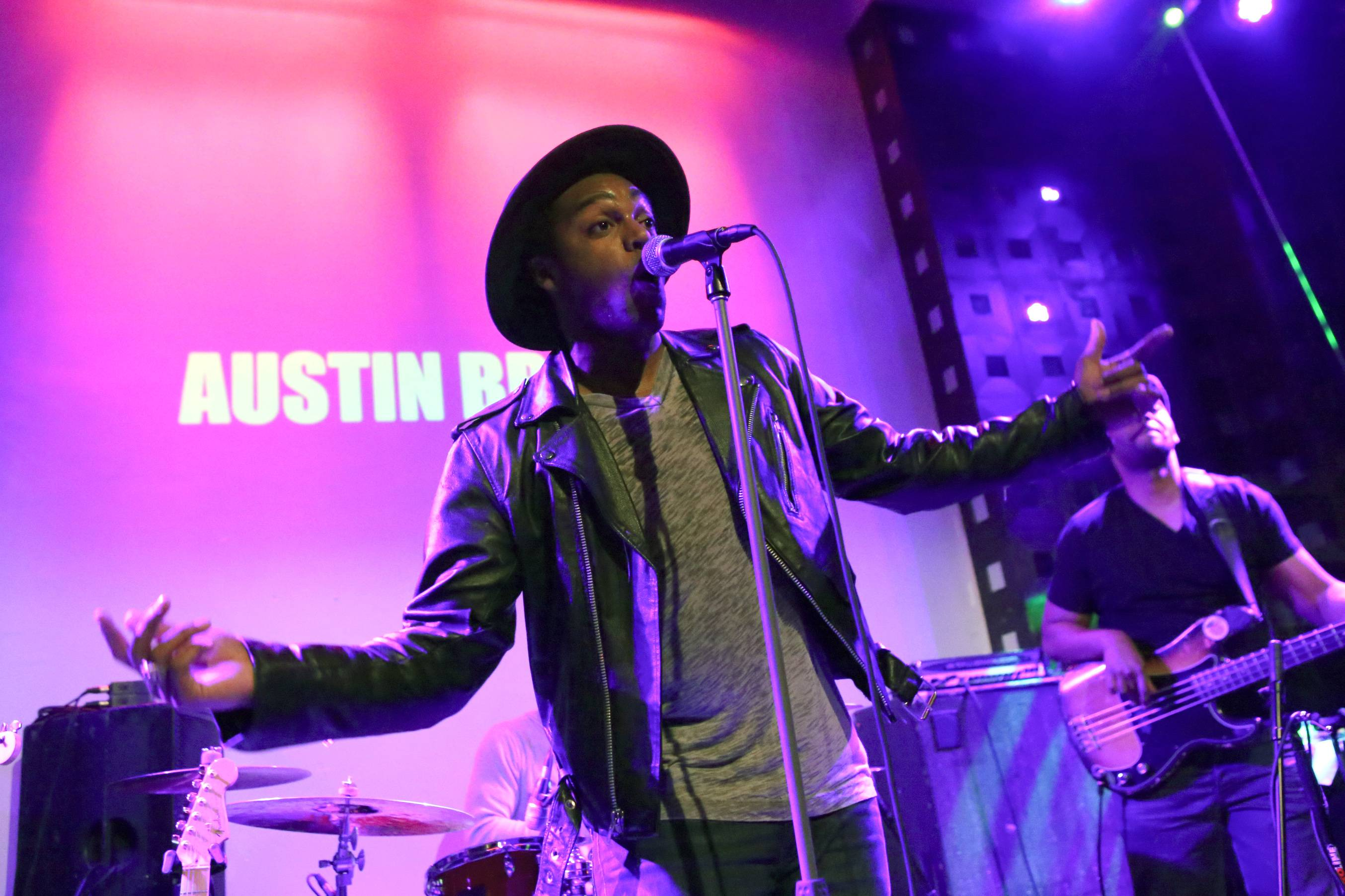 Highway to the Sky - Austin Brownlets his vocals soar as he continues his ascension to stardom with yet another giant performance.(Photo: Bennett Raglin/BET/Getty Images for BET)