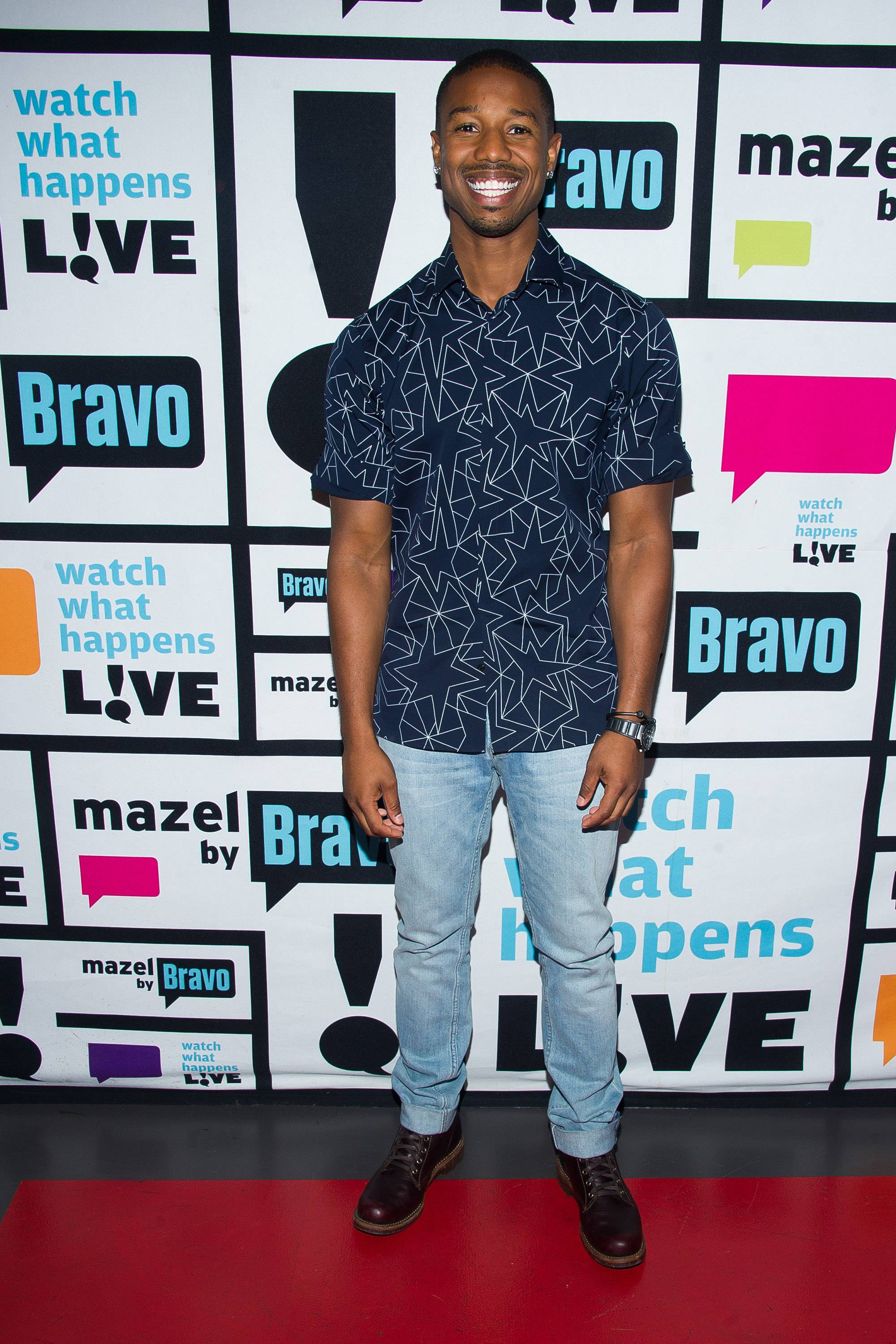 Michael B. Jordan - He's about to be international. If Sanaa is serious, she should stake her claim now.  (Photo: Charles Sykes/Bravo/NBCU Photo Bank via Getty Images)