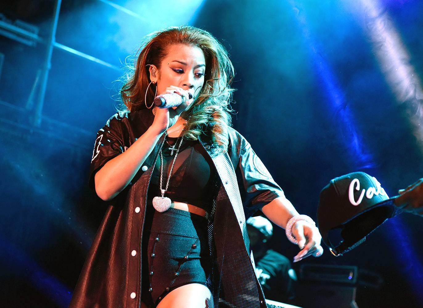 """Keyshia Cole, 'She' - Keyshia Cole unearths a new side of herself on this single from her albumPoint of No Return. """"It's one of them nights...Getting high off my own supply feels so right,"""" she croons.(Photo: Dave Kotinsky/Getty Images)"""