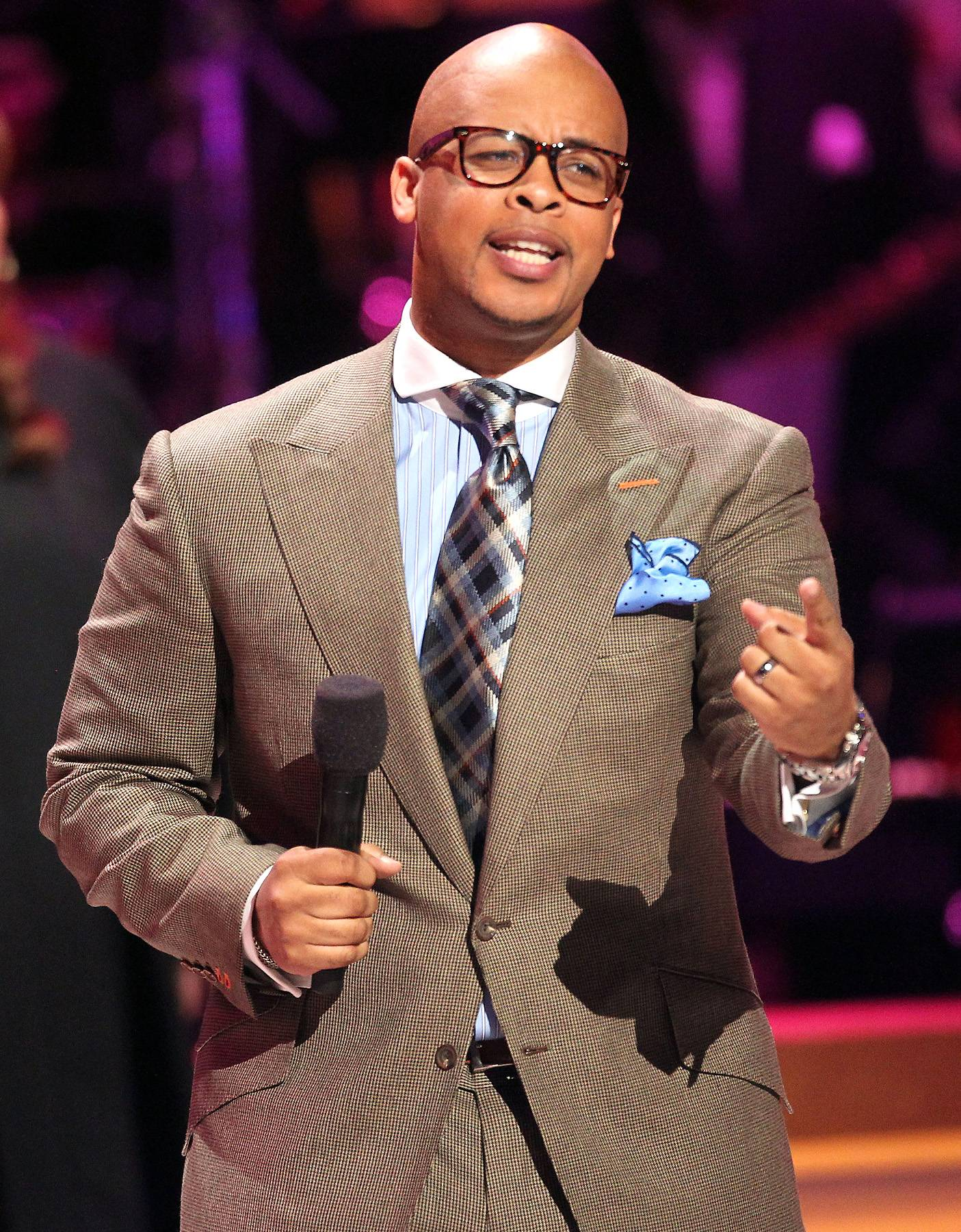 """James Fortune - FIYA front man James Frotune also hit the road this year with """"United As One,"""" one of the biggest gospel tours of the 2013 season.(Photo: Frederick M. Brown/Getty Images)"""