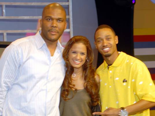 Terrence and Rocsi - Terrence and Rocsi meet the one and only, Tyler Perry.