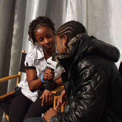 Omarion - A 106 & Park audience member interviews Omarion.