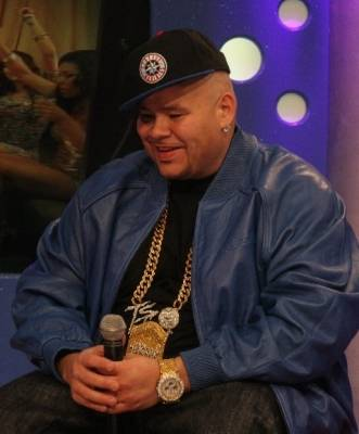 """Fat Joe - Excited about his new CD,""""Elephant In the Room"""" finally in stores."""